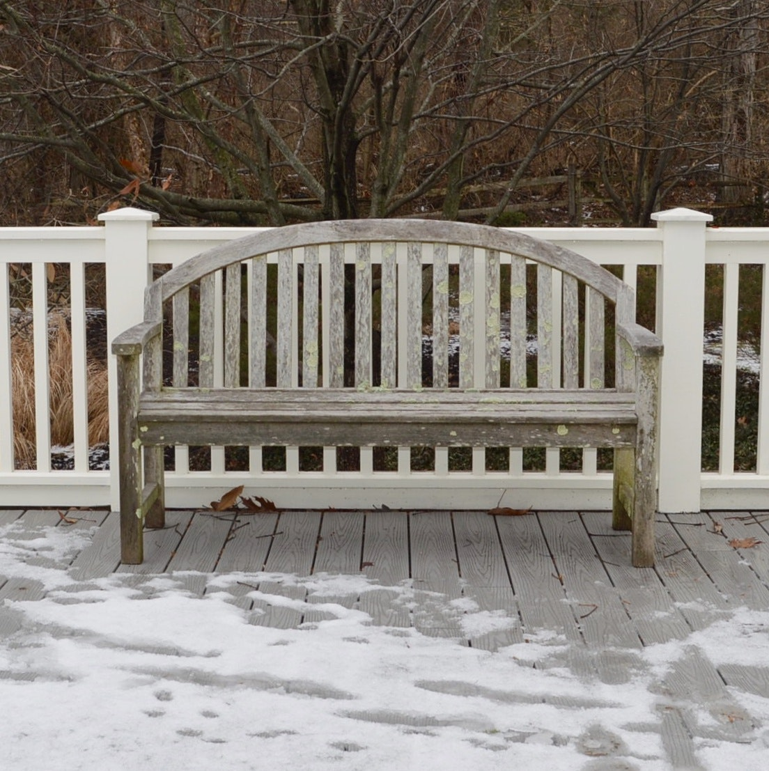 Smith & Hawken Teak Wood Bench