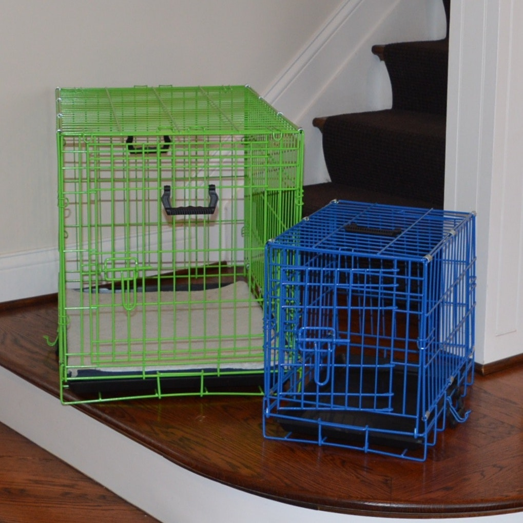 Collapsible  Medium and Small Dog Crates