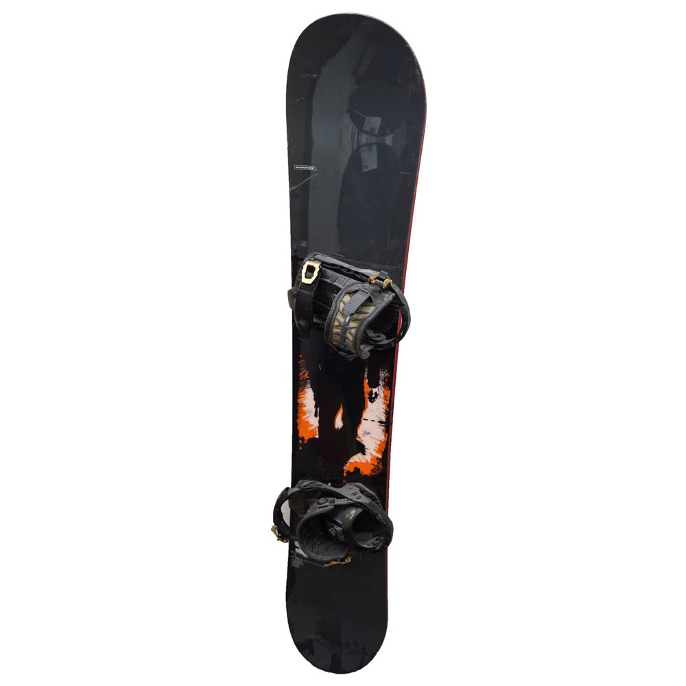 Salomon 155cm Snowboard with Bindings