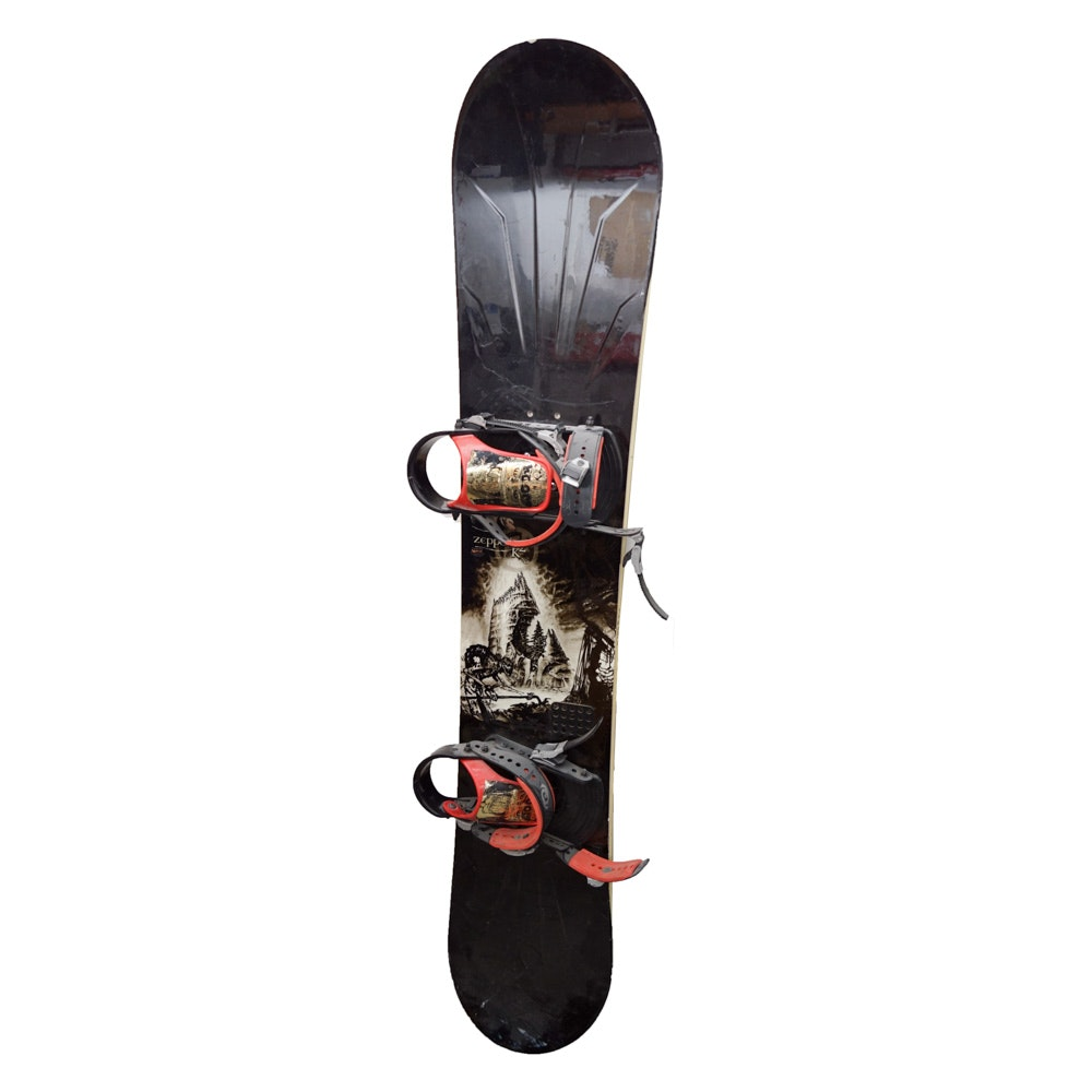 """K2 """"Zeppelin"""" 159cm Snowboard with """"Magic: The Gathering"""" Graphics"""