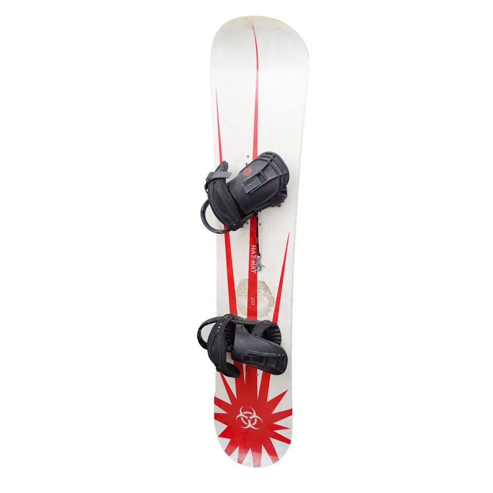 Haz-Mat 150 Snowboard with Bindings