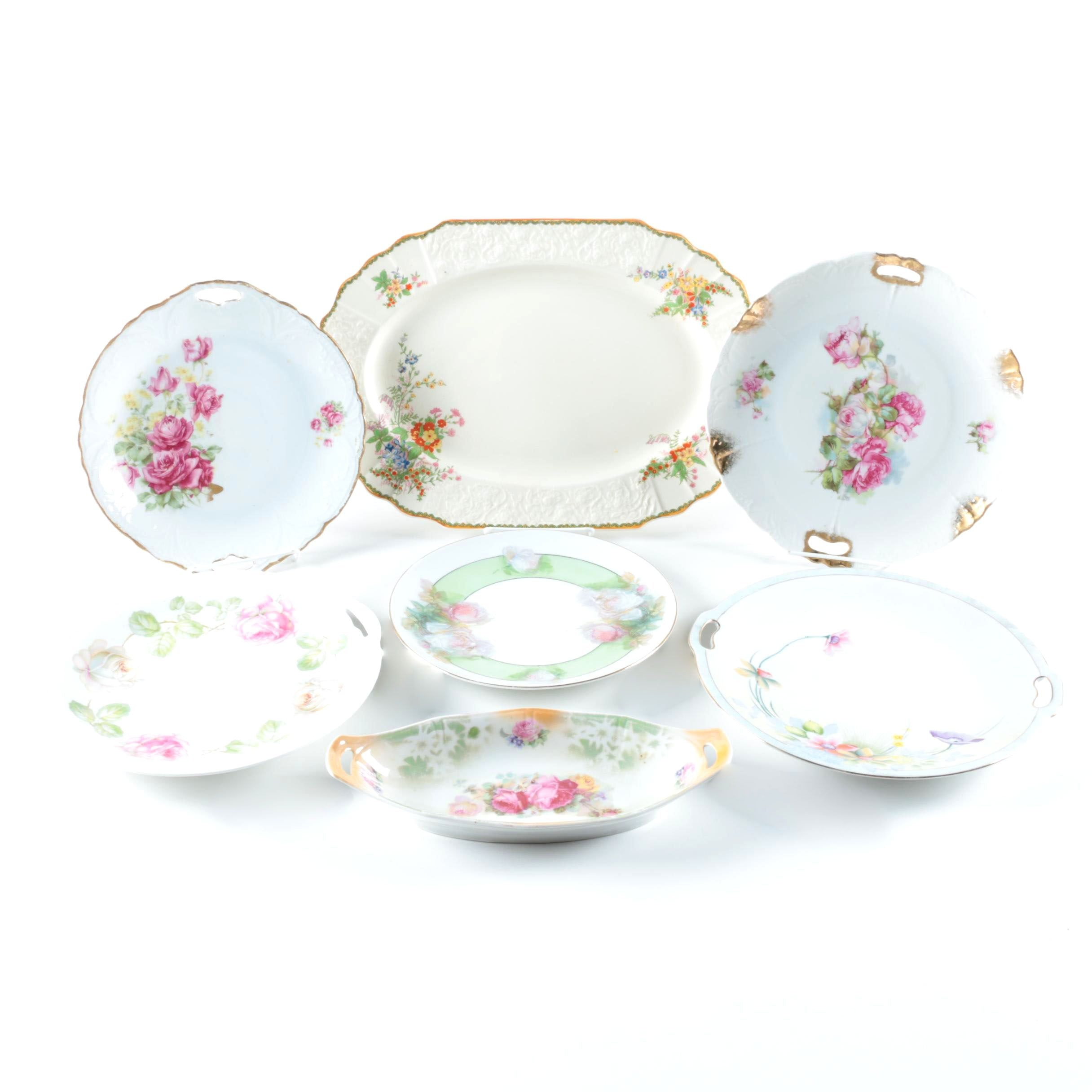 Porcelain and Ceramic Tableware Including Bavaria and Meito