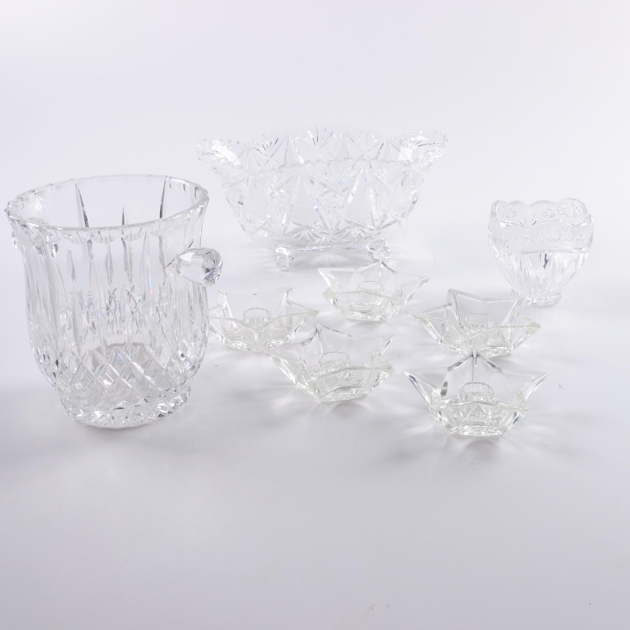 Assortment of Glass Tableware