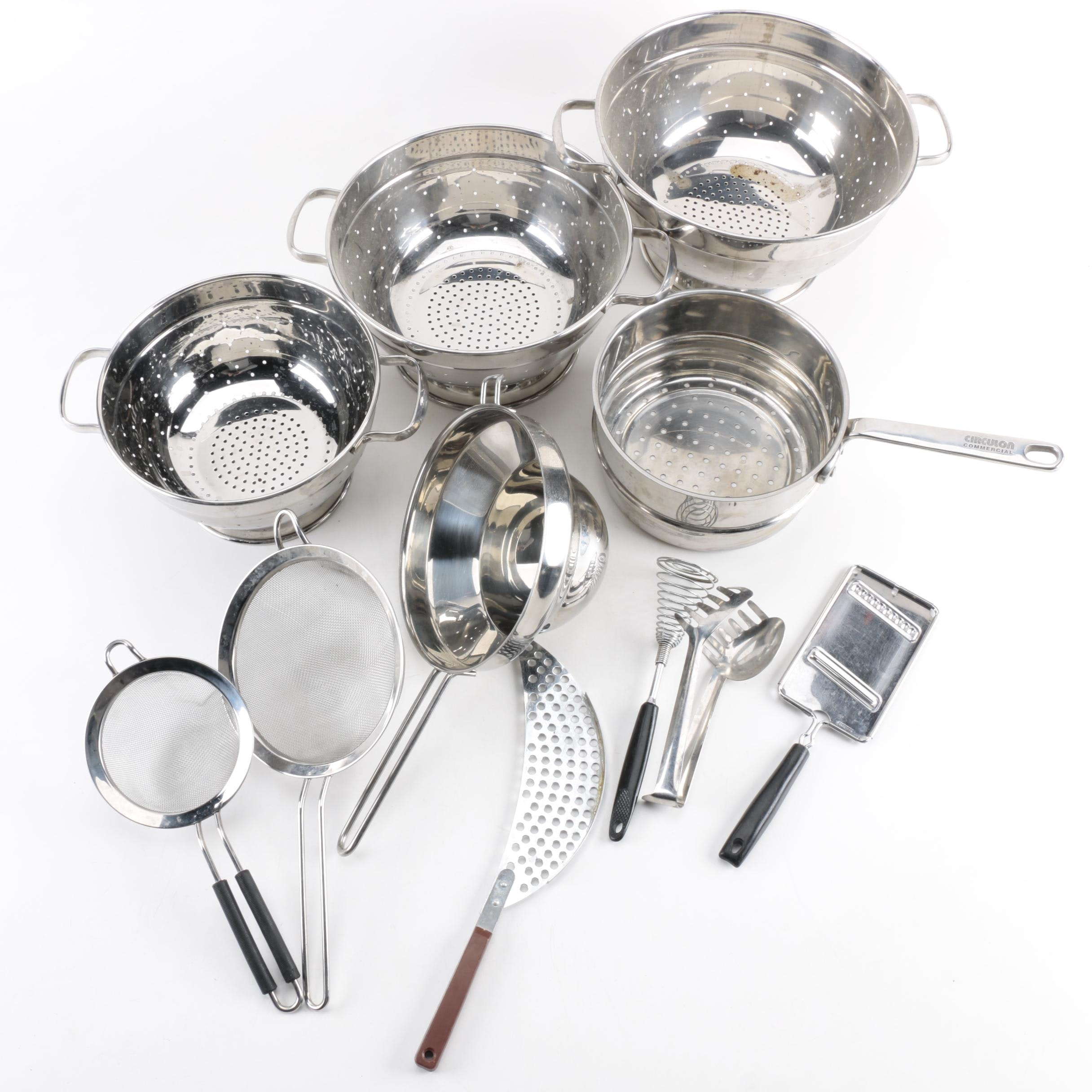 Assorted Cookware Featuring Circulon