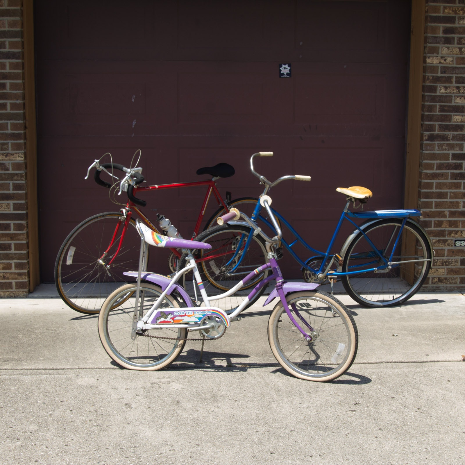 Vintage Schwinn, Murray, and AMC Bike Set