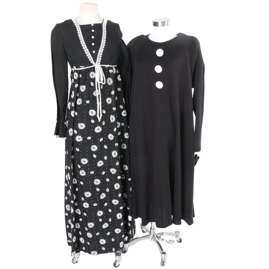 6d3c9ec40d54 Vintage Black Dresses  1x1 ...