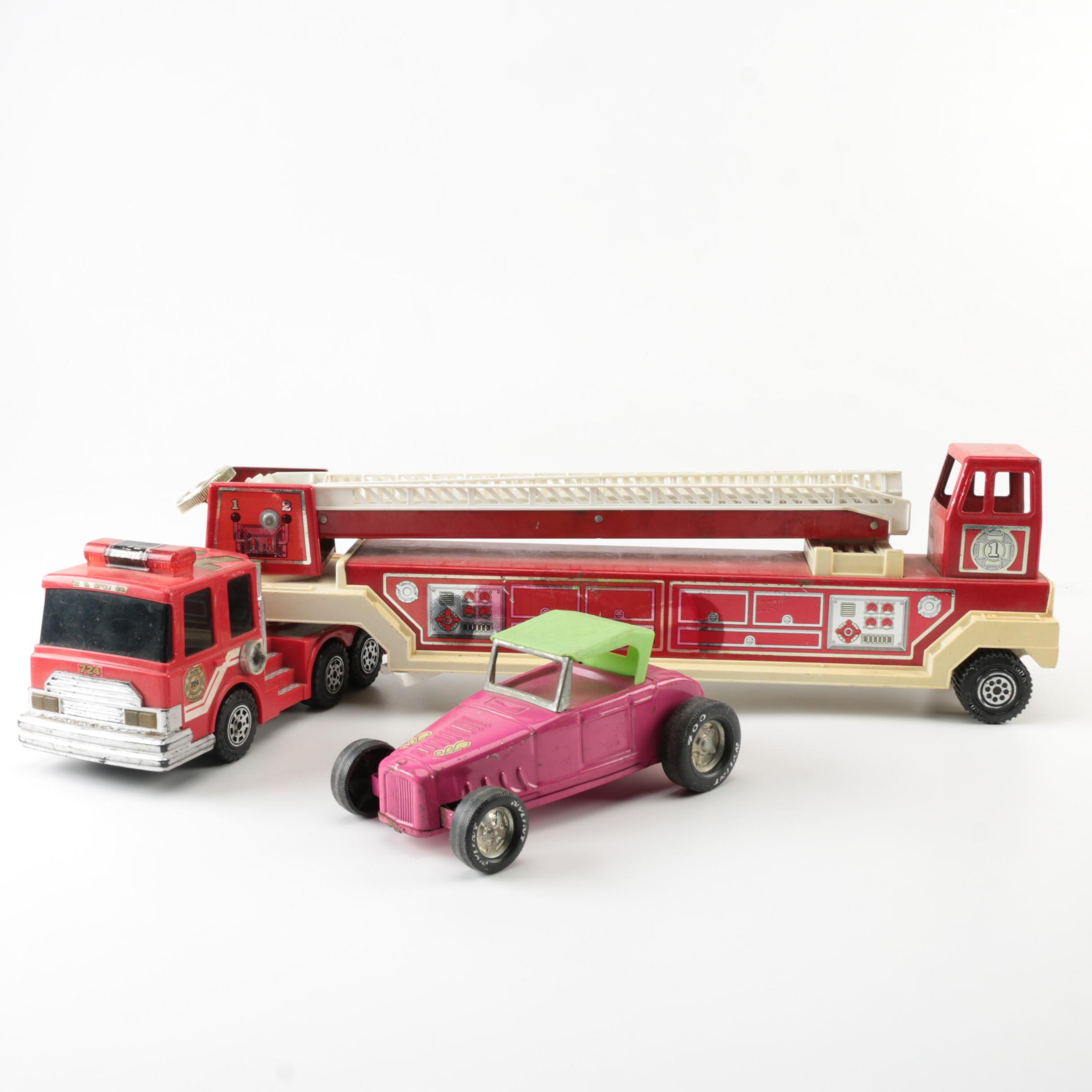 Vintage Metal Toy Vehicles