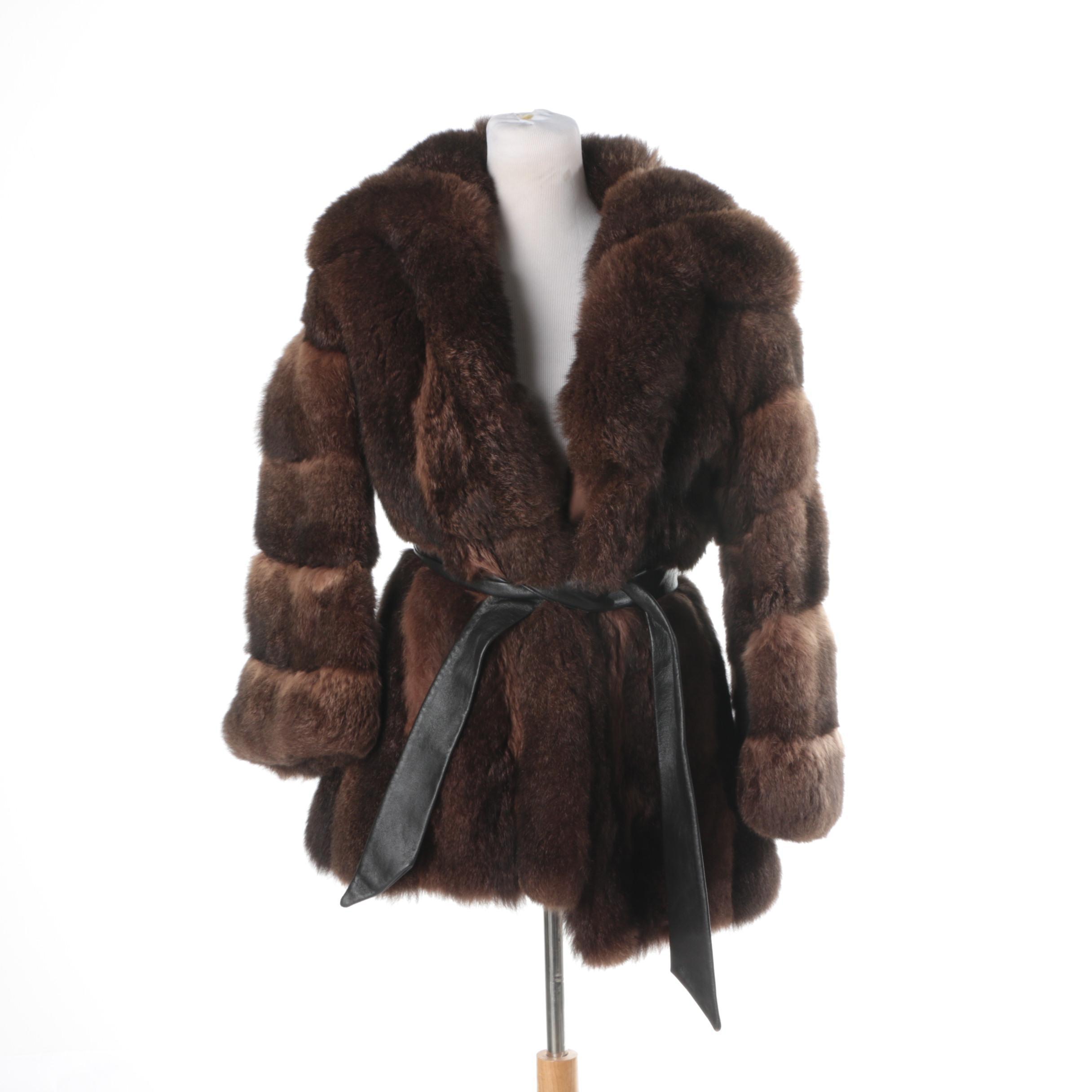 Vintage Australian Possum Fur Coat