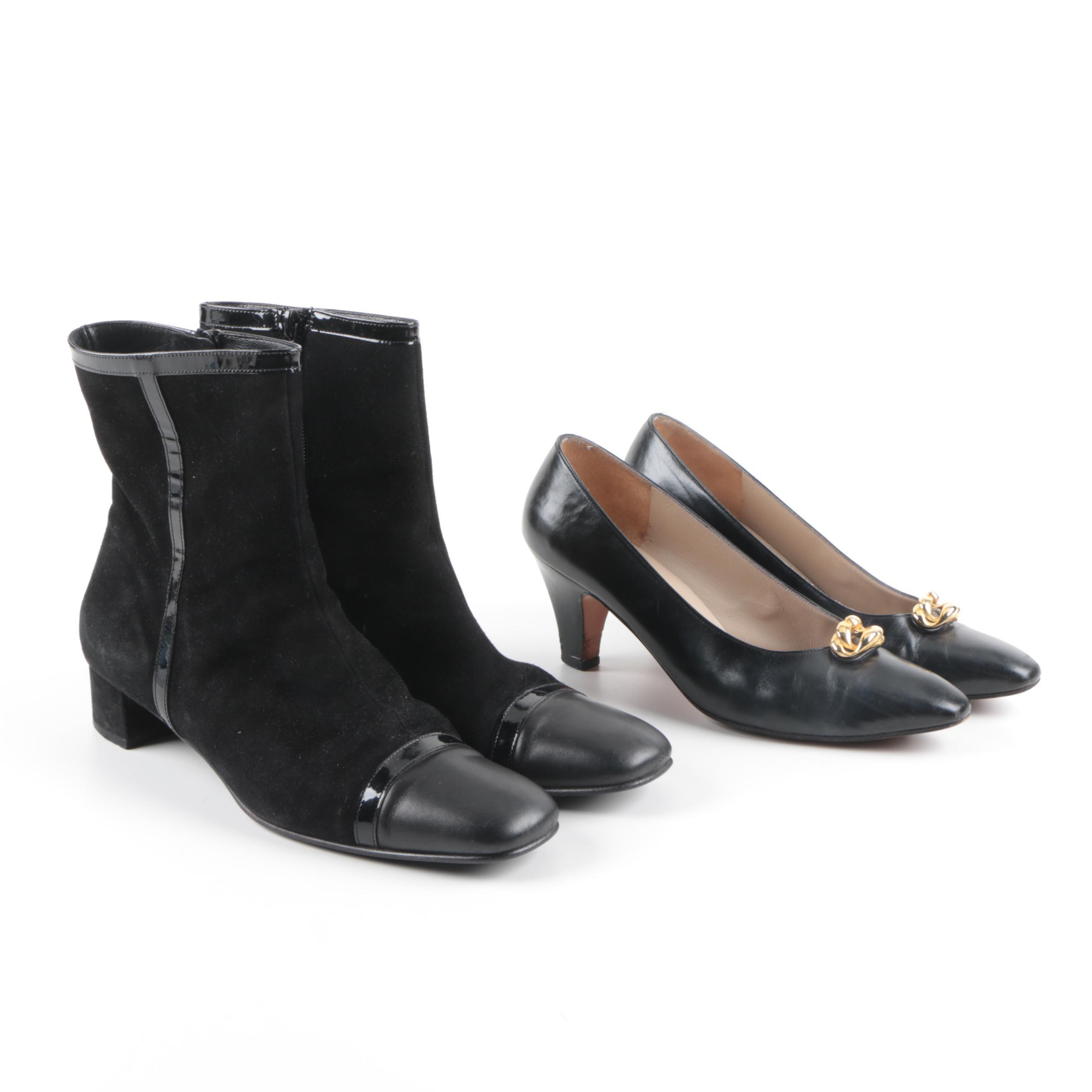 Women's Salvatore Ferragamo Ankle Boots and Pumps