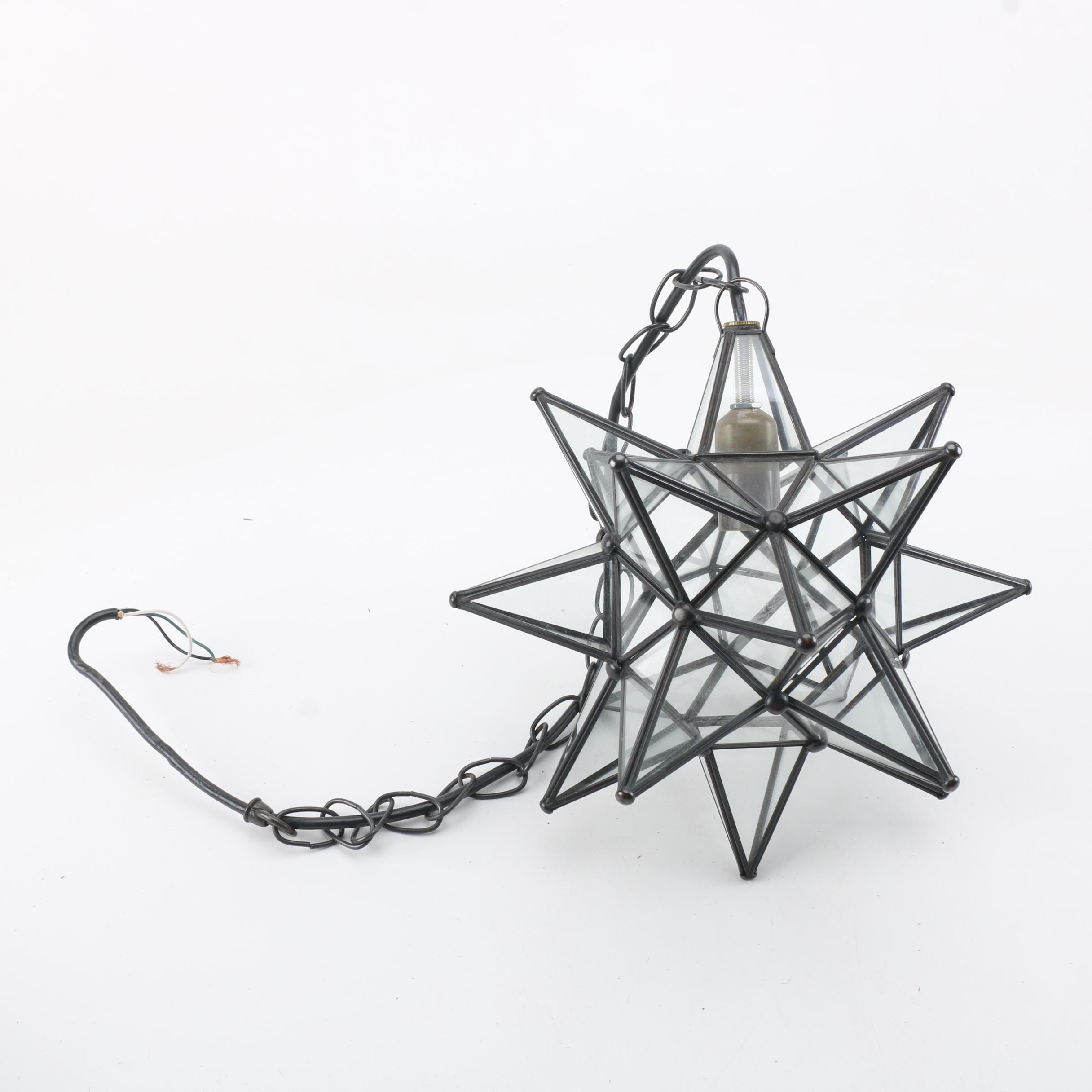 Moravian Star Pendant Light