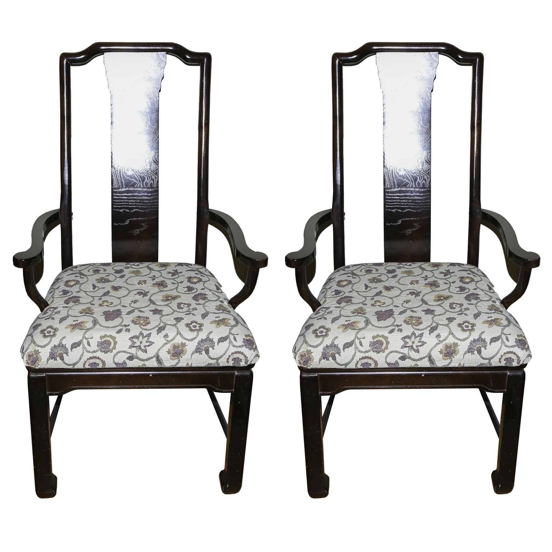 Ming Dynasty Style Side Chairs
