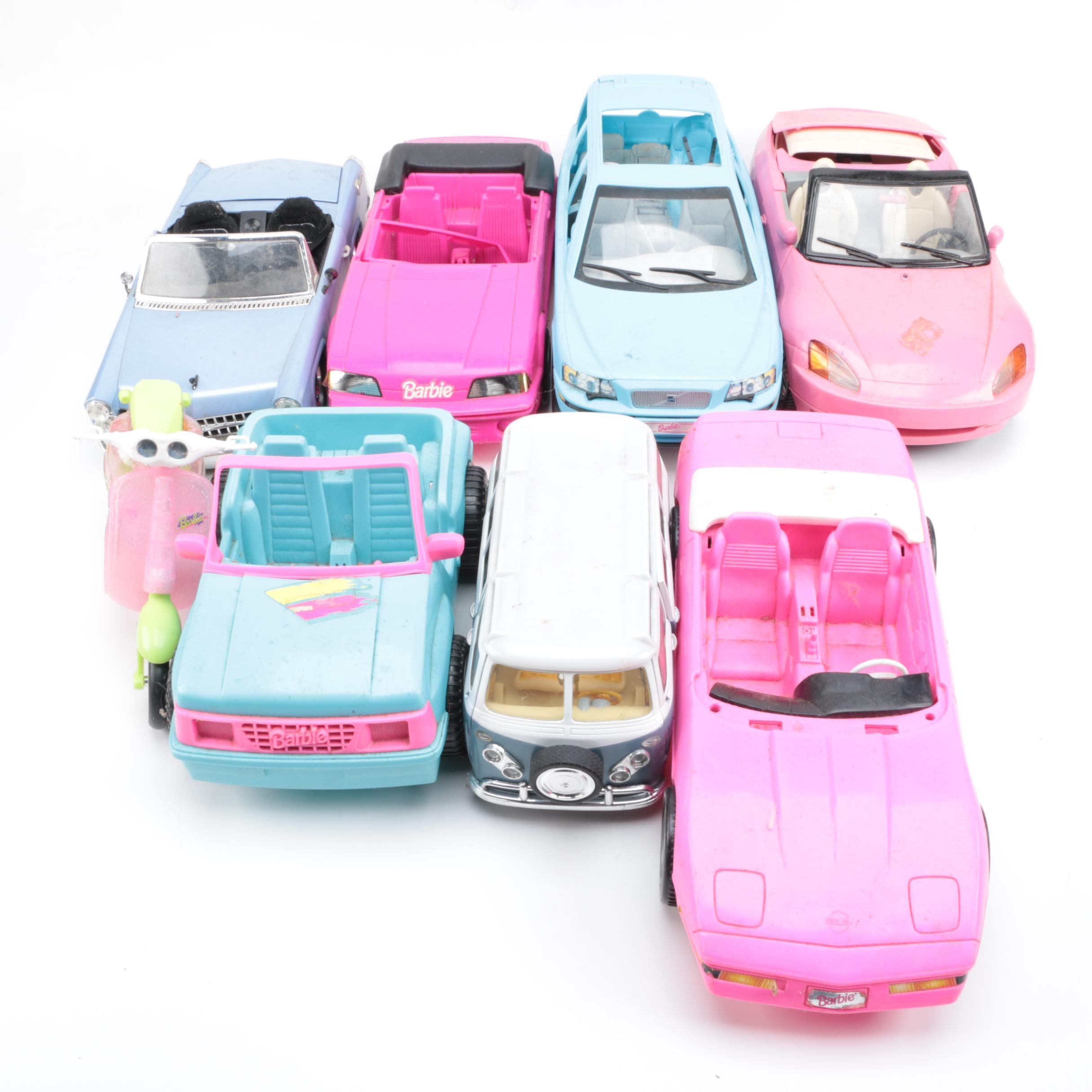 Toy Vehicles Including Barbie