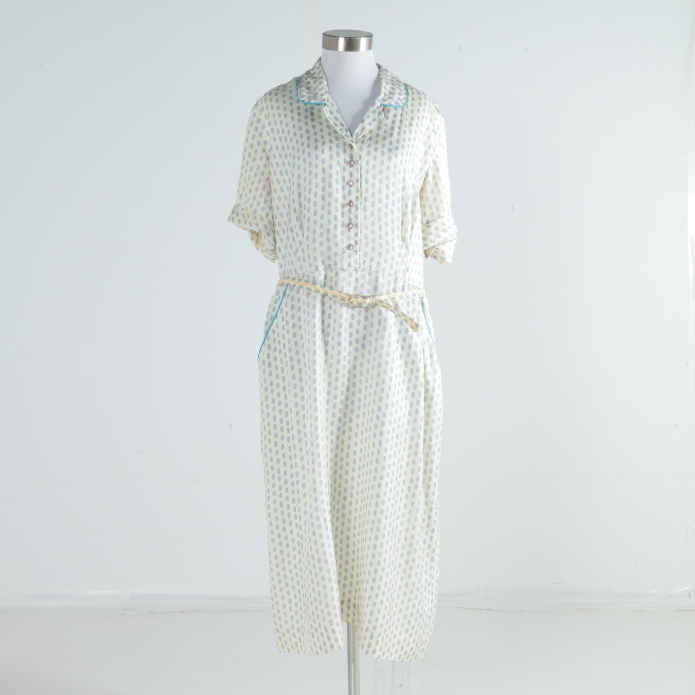 Women's Vintage Park Lane Frocks Shirtwaist Dress