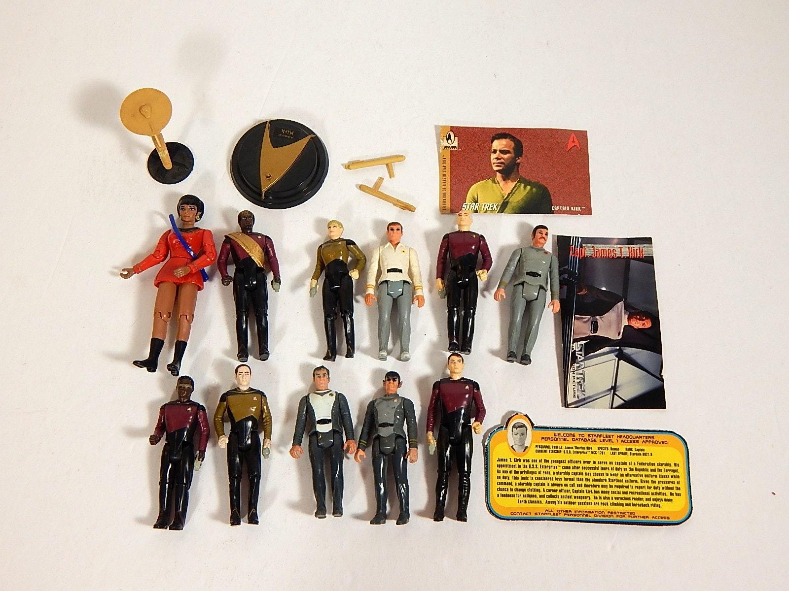 1980s Star Trek Action Figures