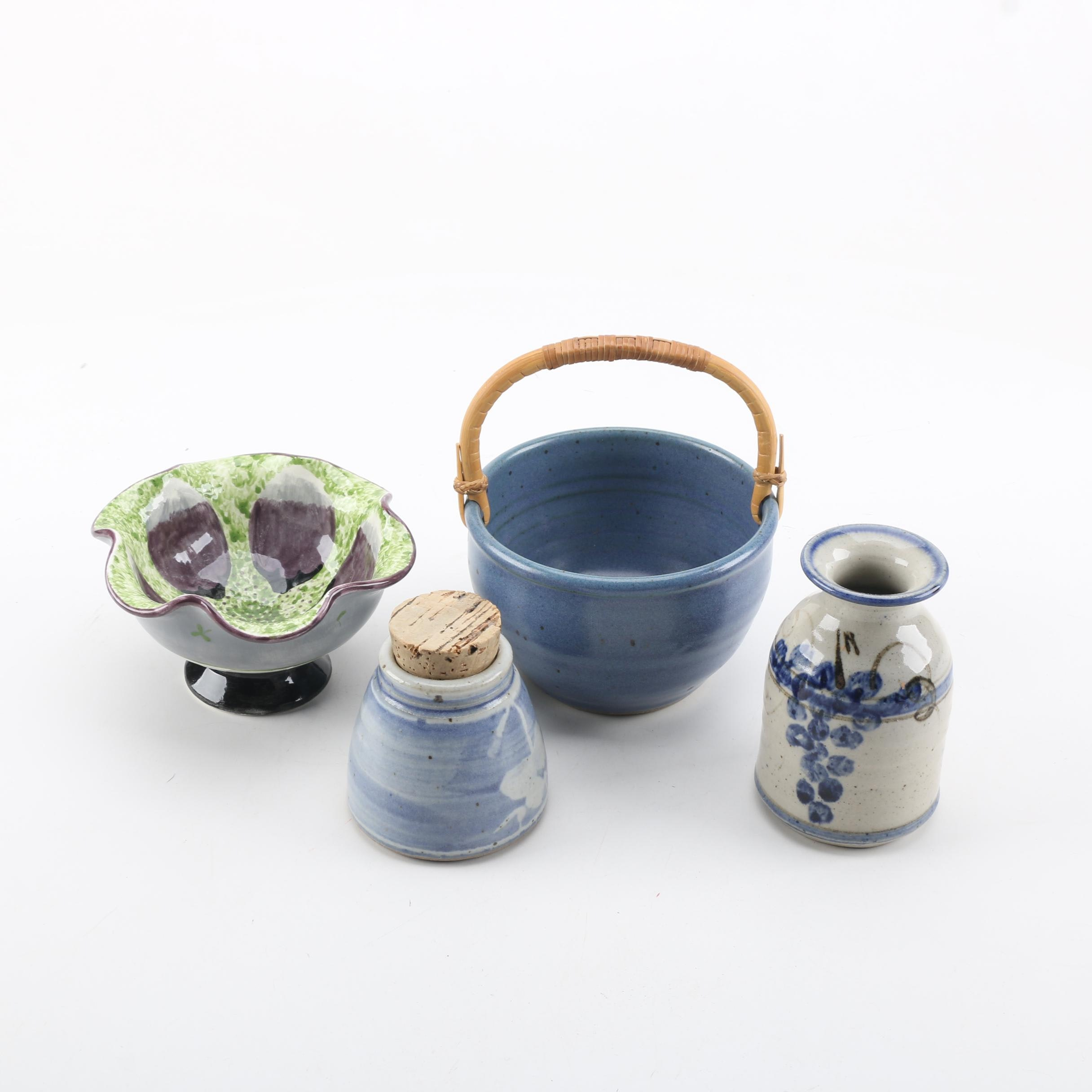 Ceramic Canisters and Bowls