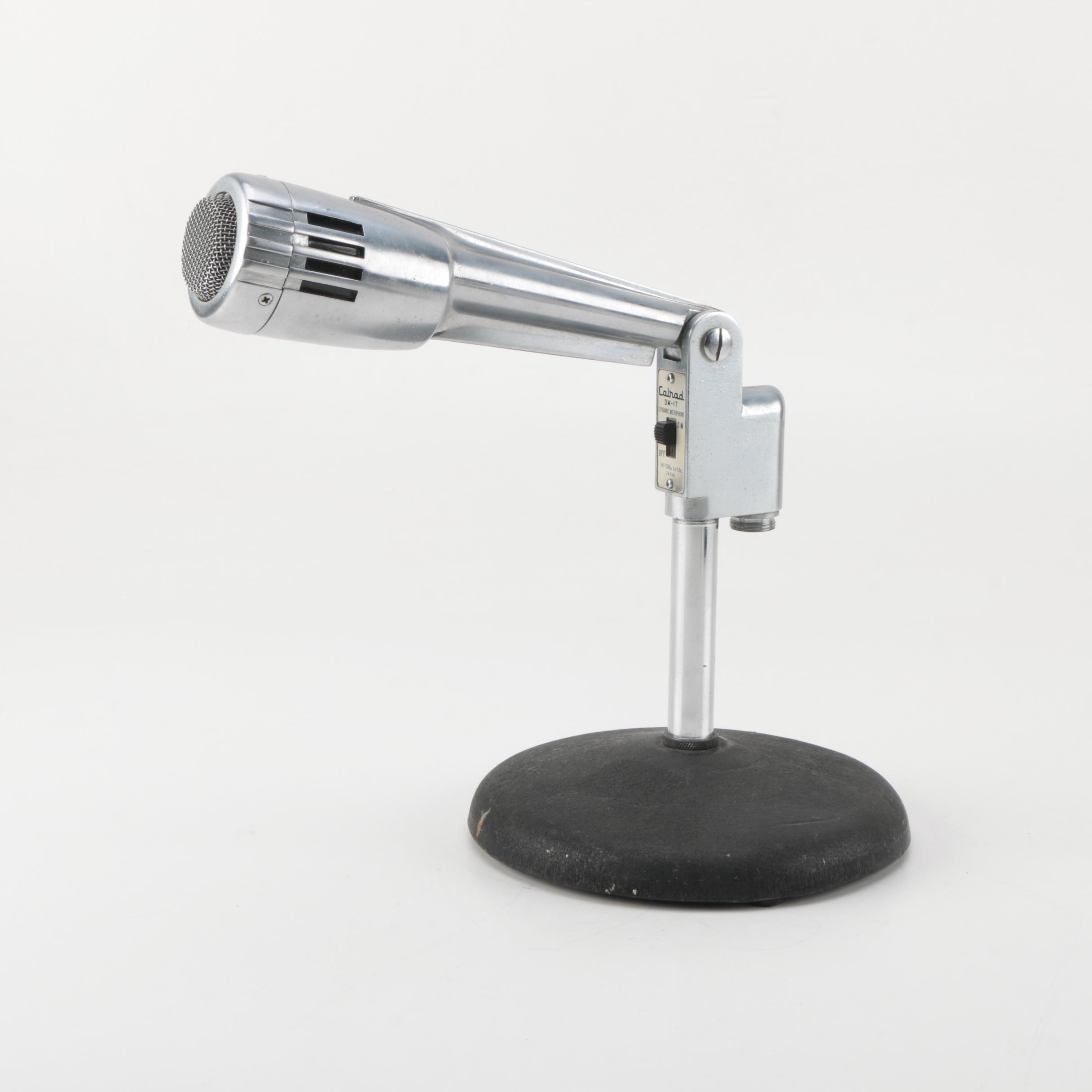 Mid Century Calrad Microphone