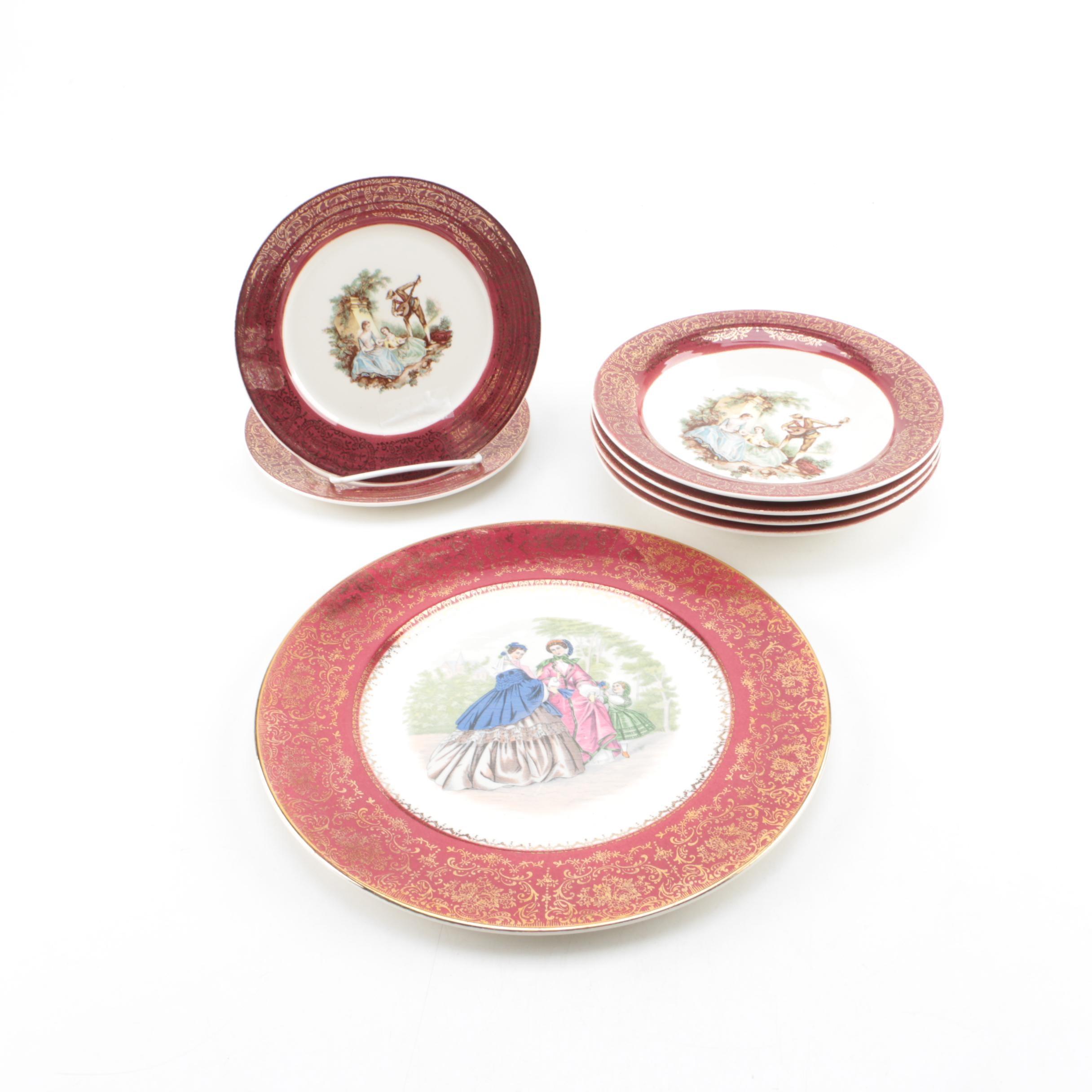 "Sebring Pottery Co. ""Serenade"" Tableware"