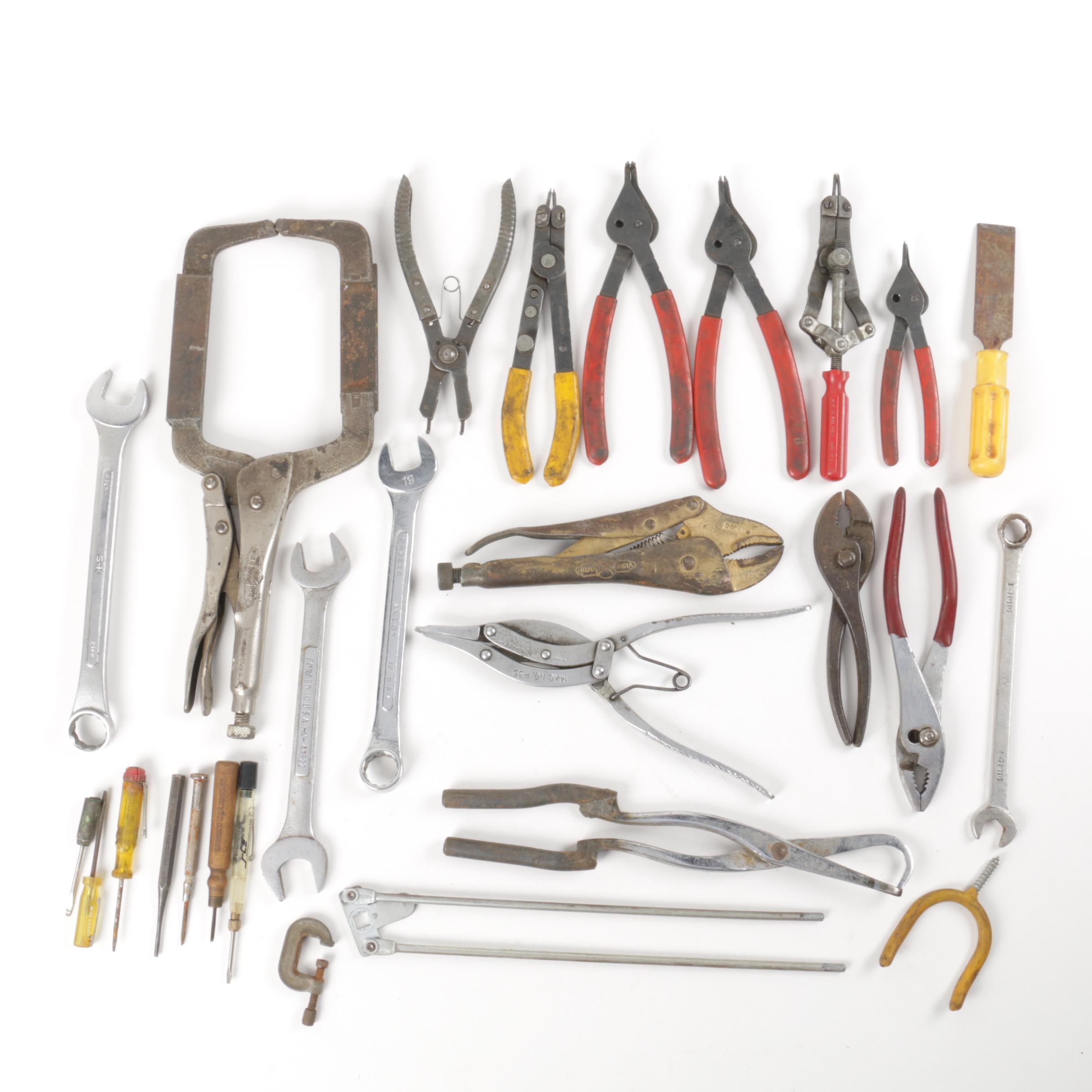 Assortment of Vintage Tools
