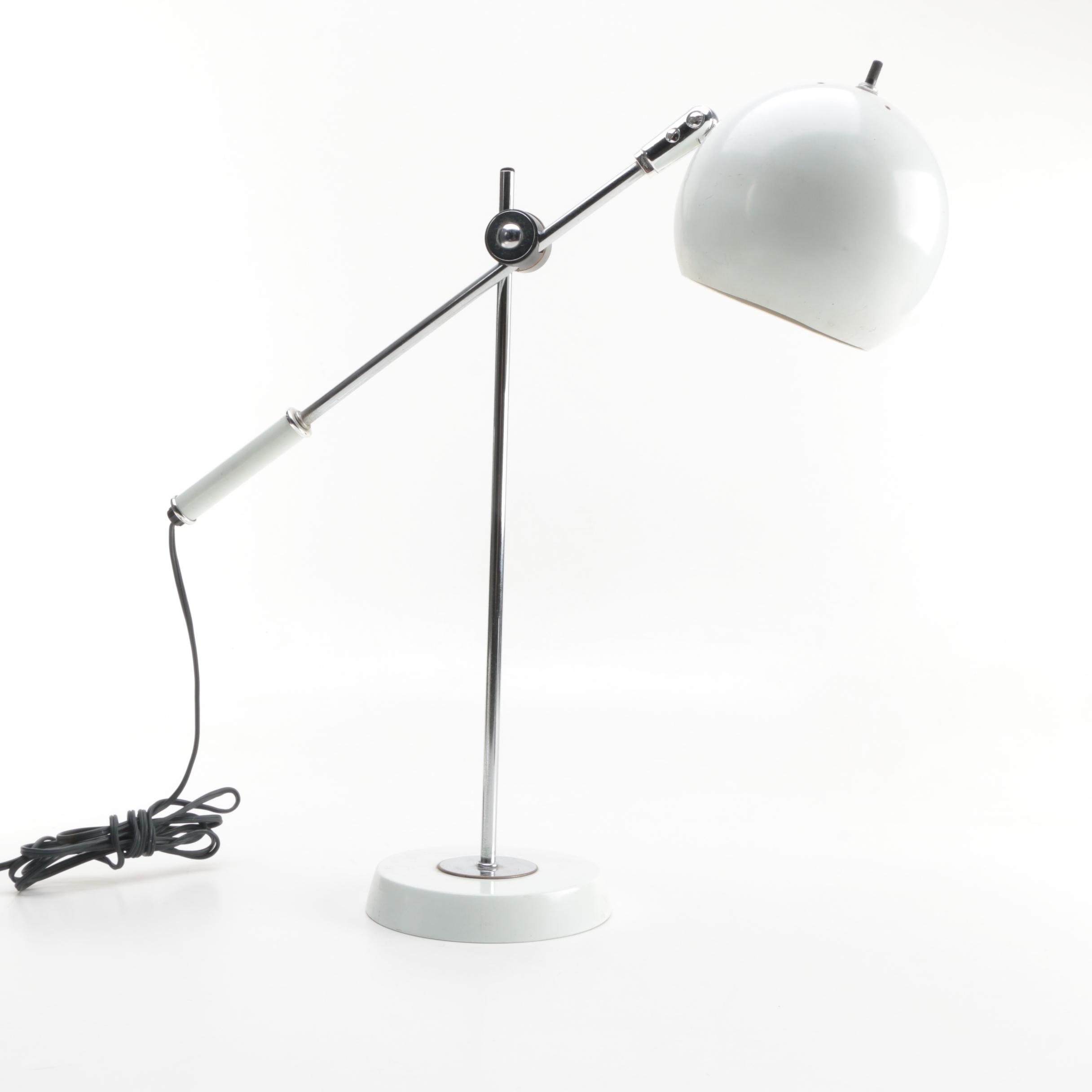 "Vintage ""Orbiter"" Style Desk Lamp"