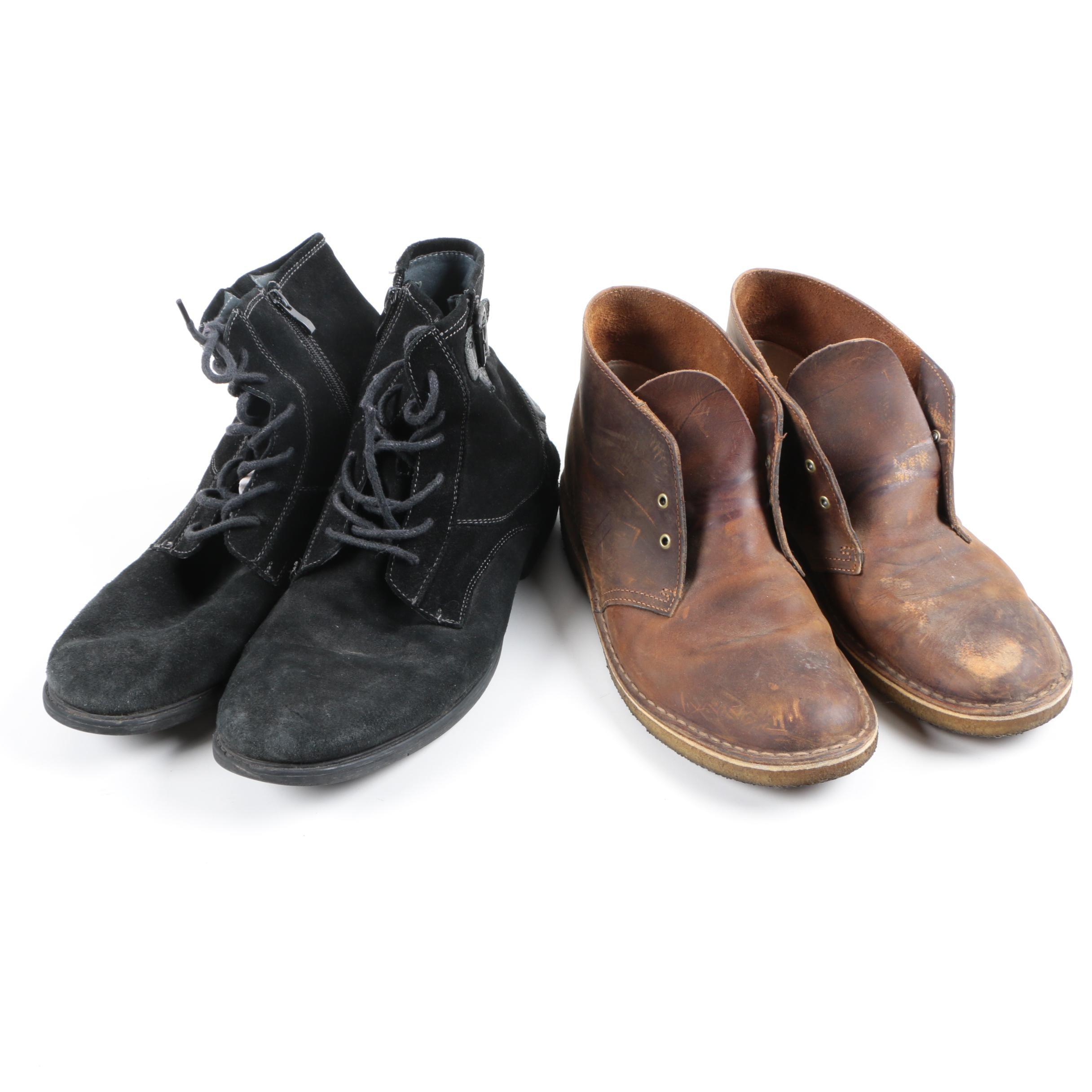 Men's Ankle Boots Including Steve Madden