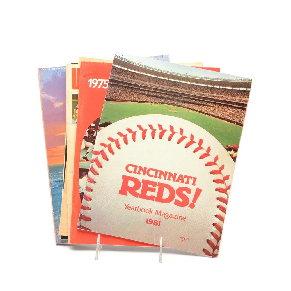 Assorted Cincinnati Sports Publications