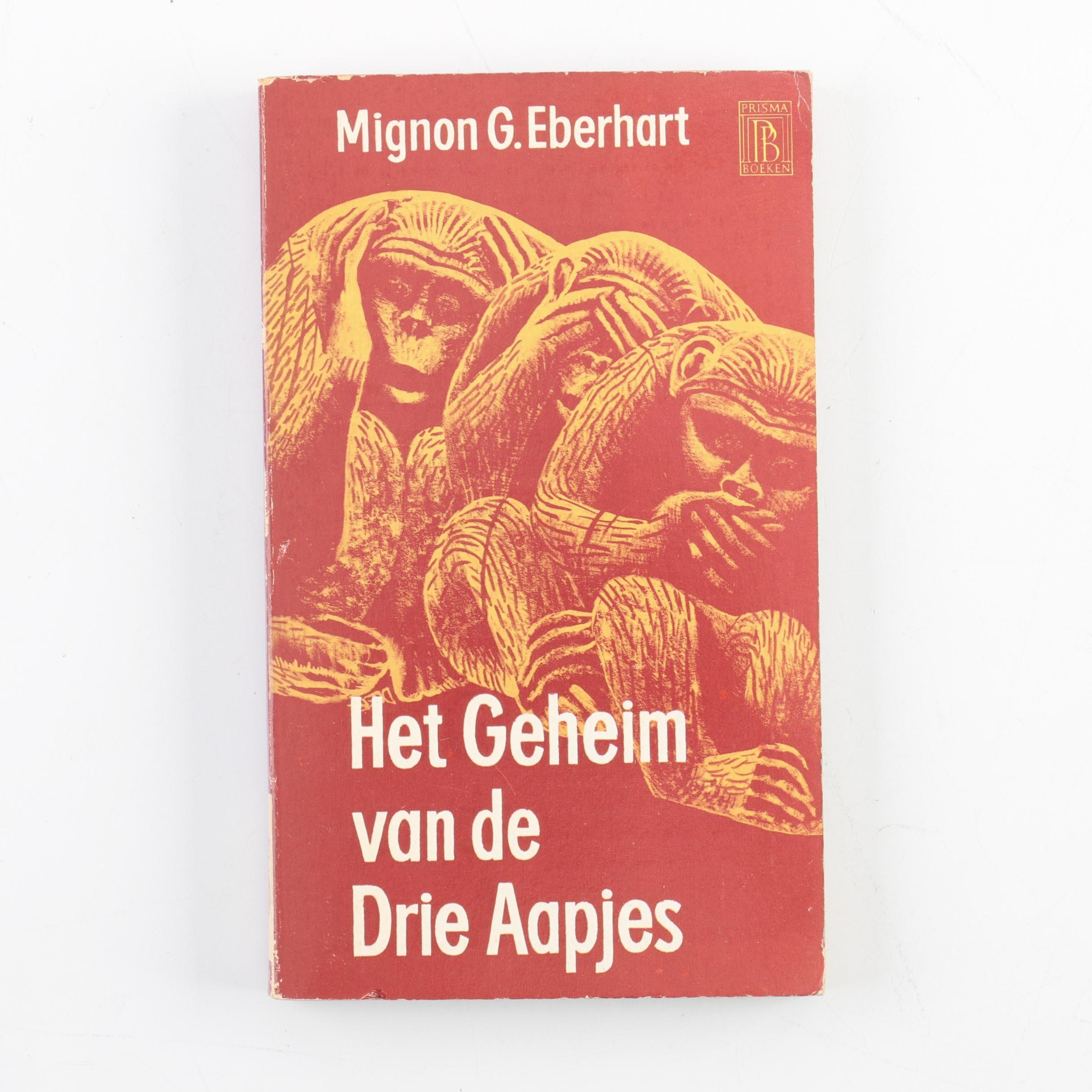 """1962 Dutch-Language """"Speak No Evil"""" by Mignon G. Eberhart"""