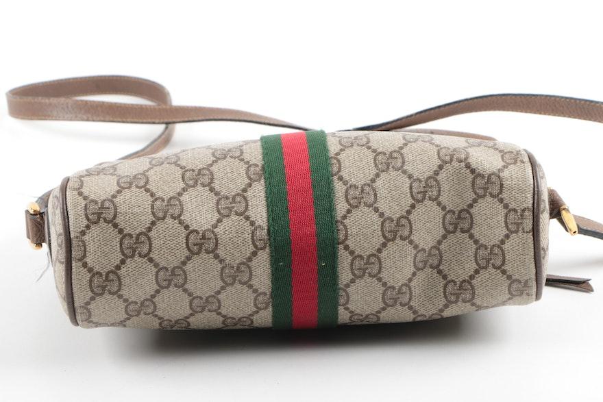 6631e52d27a Vintage Gucci Monogram Shoulder Bag   EBTH.