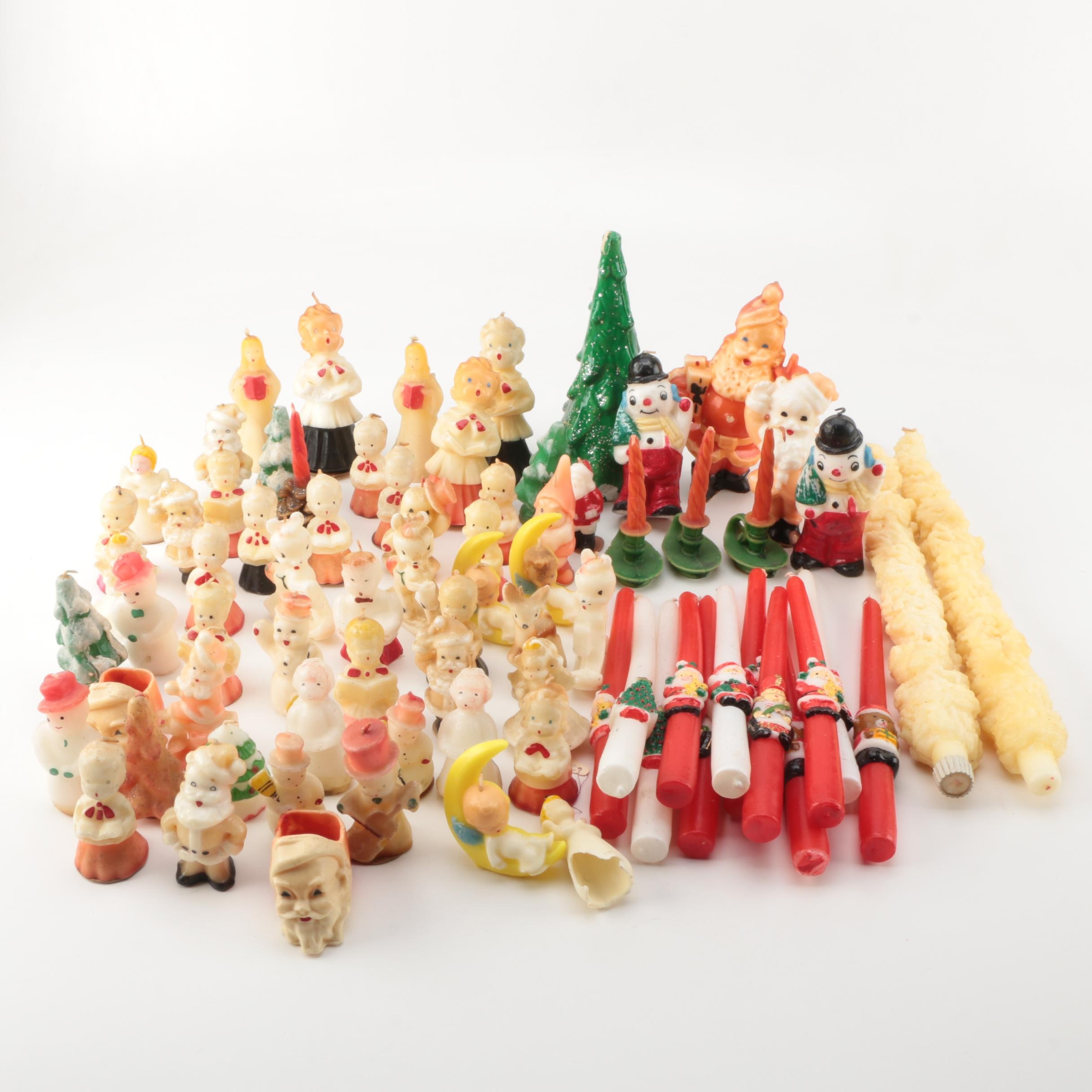Large Selection of Christmas Candles
