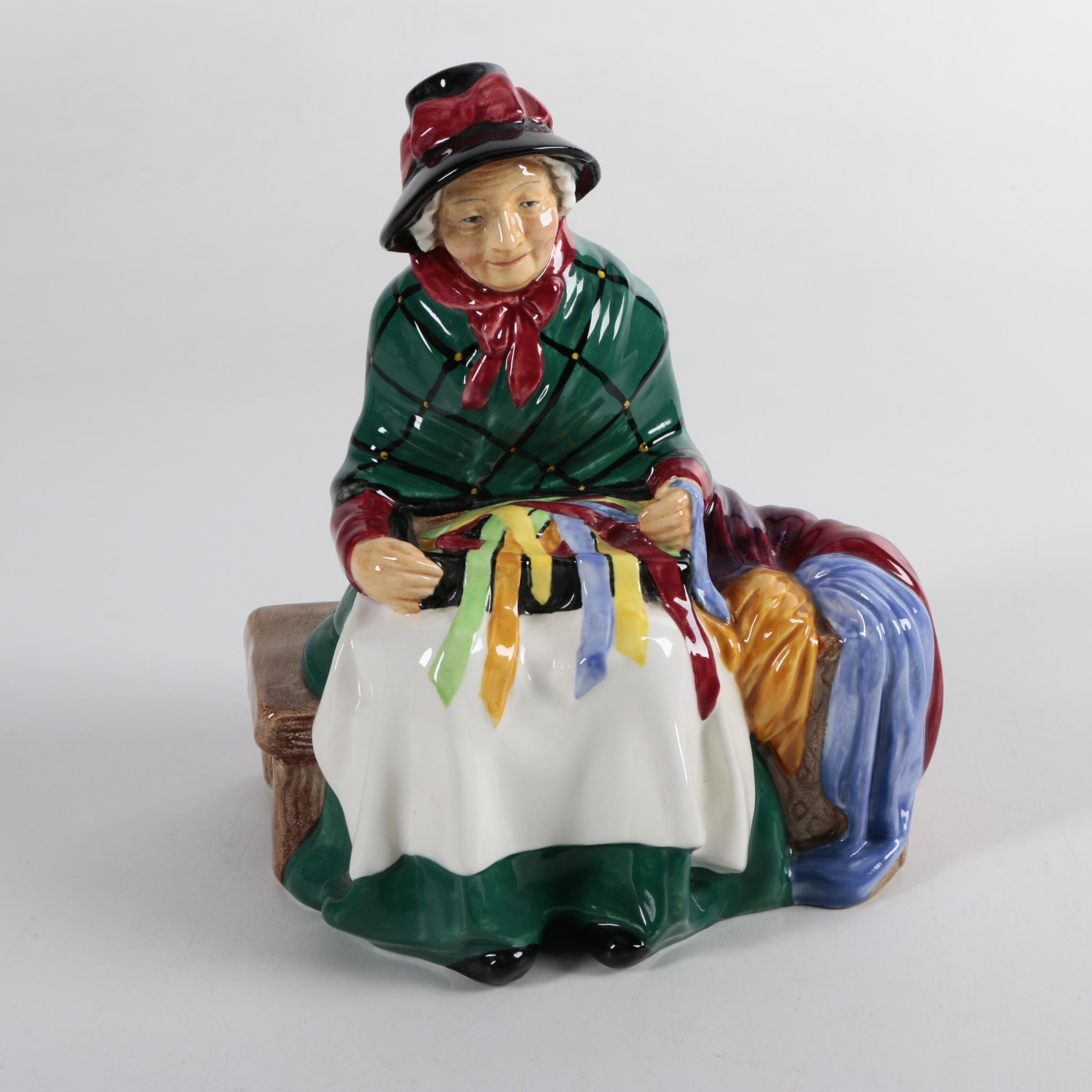 "Royal Doulton ""Silk and Ribbons"" Figurine H.N. 2017 1948"