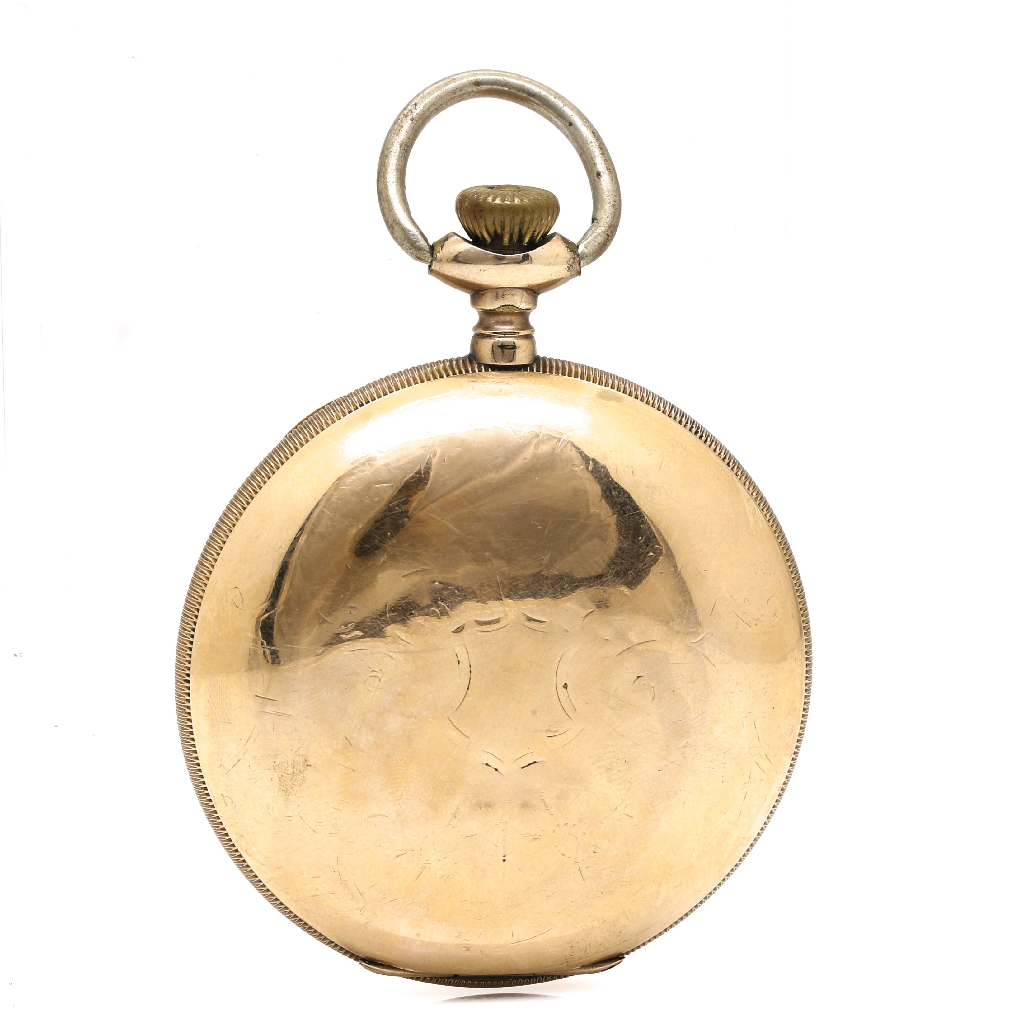 Antique Elgin Hunter Case Pocket Watch