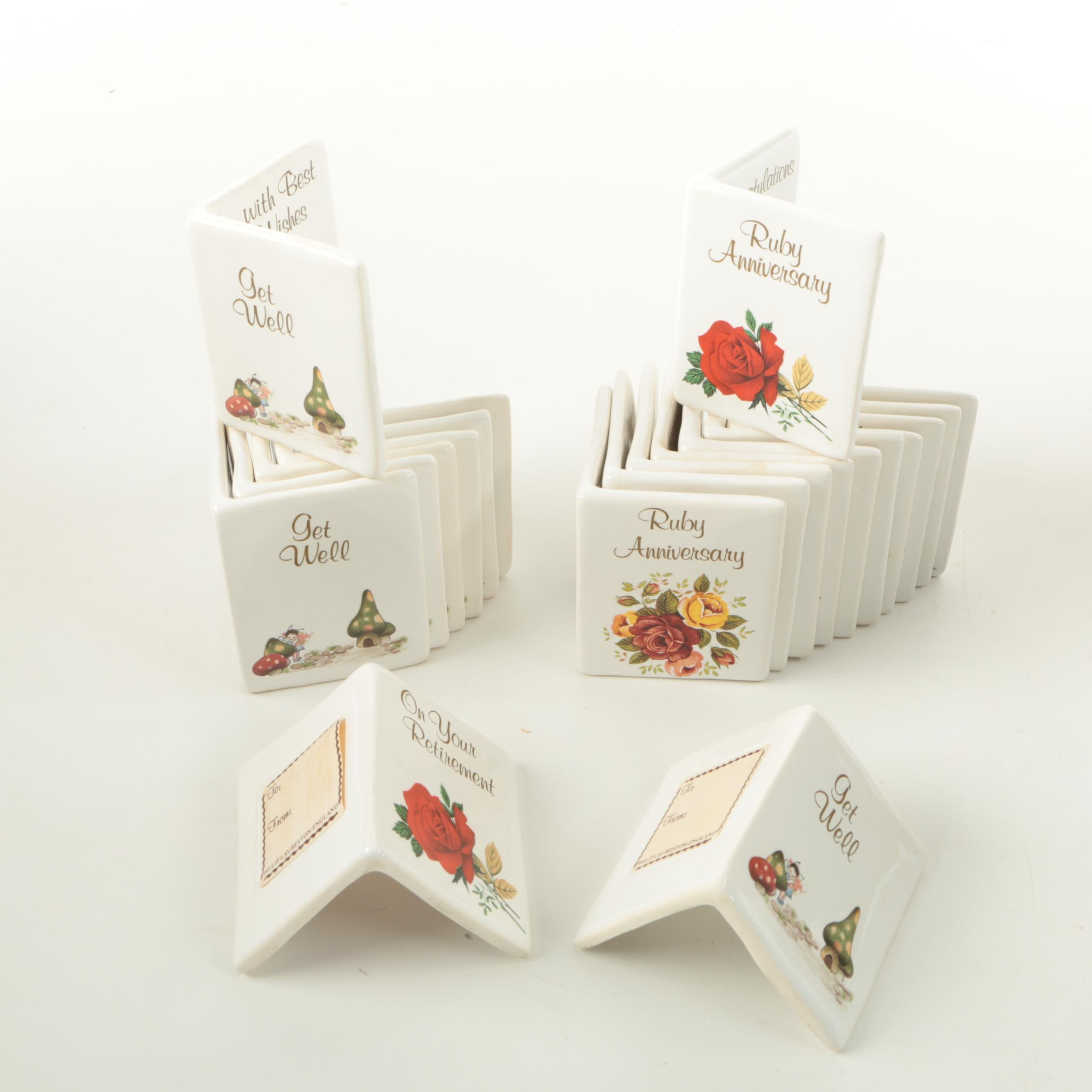 Phillip Laureston Pottery Greeting Cards