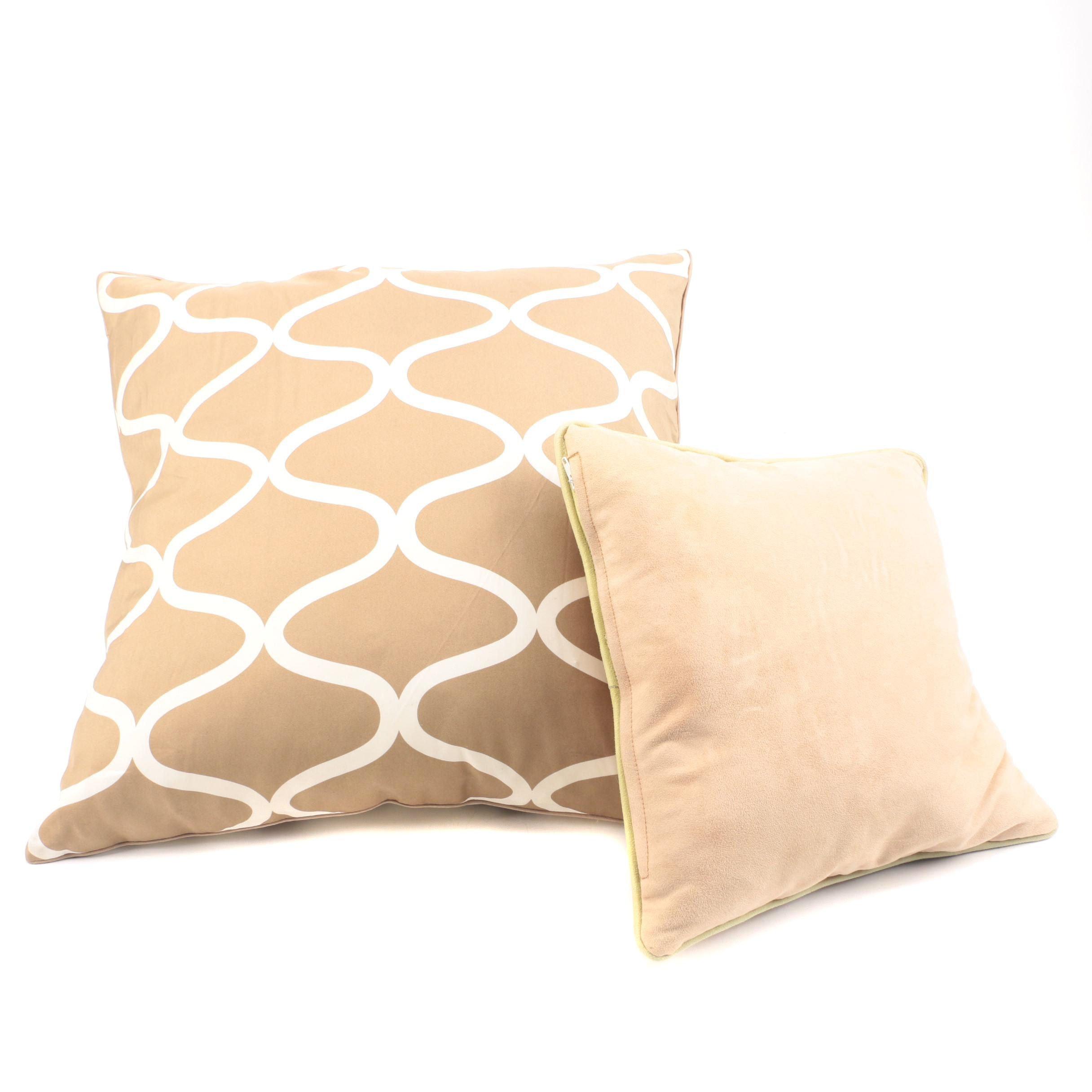 Pair of Throw Pillows
