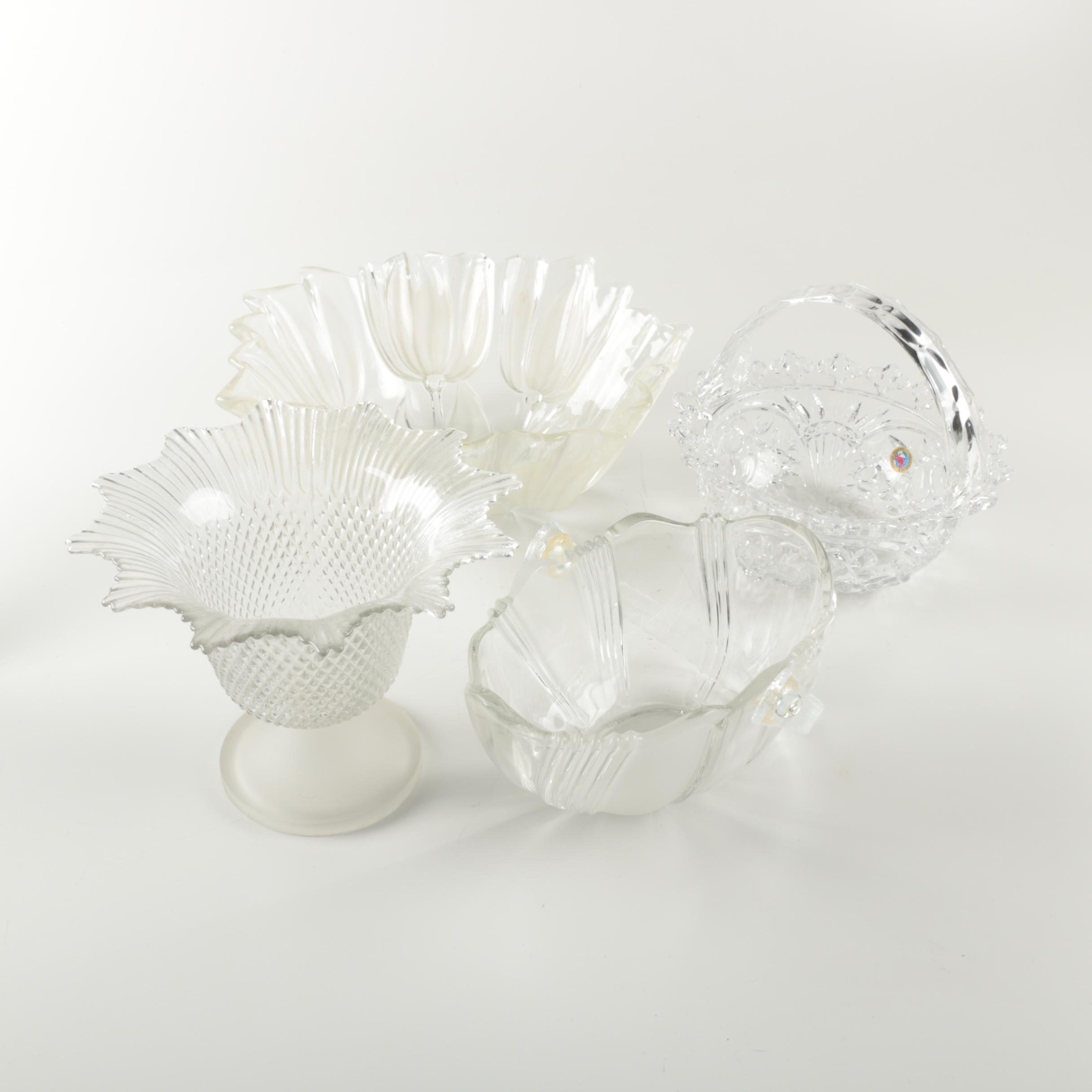 Decorative Crystal and Glass Bowls