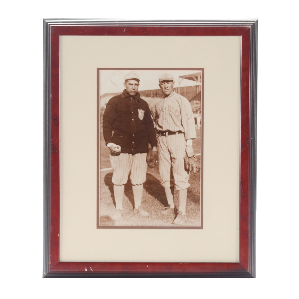 Meyers and Thorpe Baseball Photo