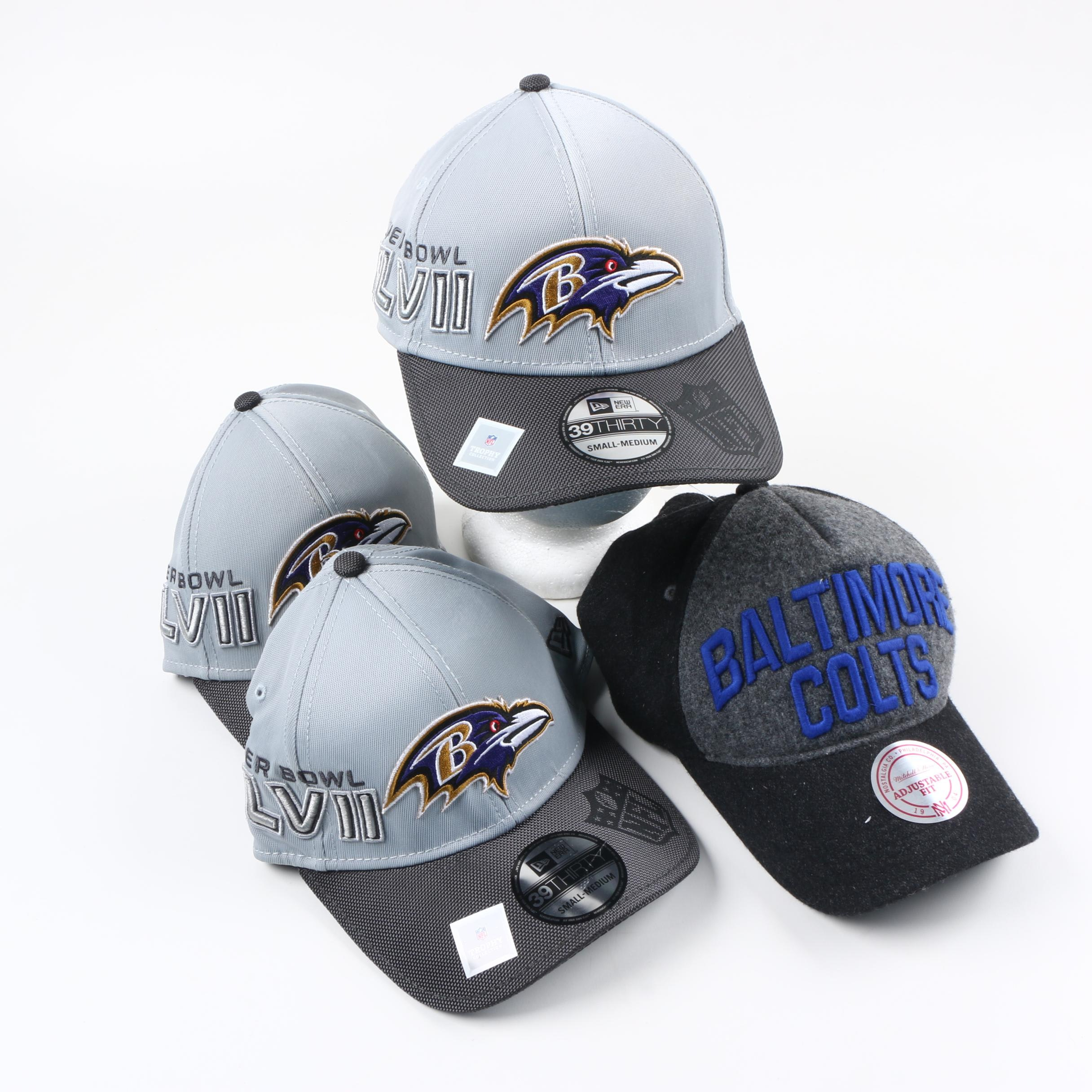Baltimore Sports Themed Hats