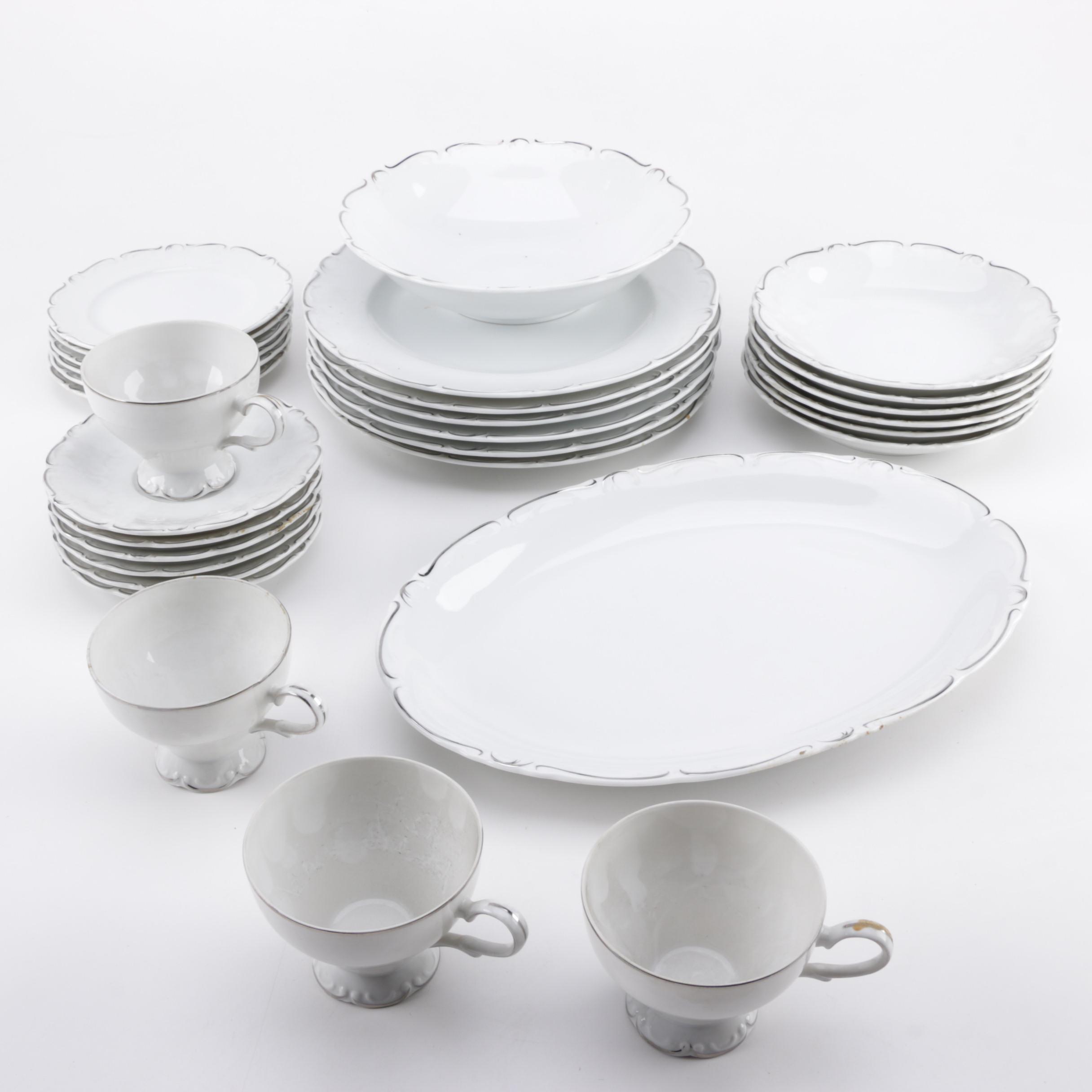 Royal Sovereign \ Simplicity\  Fine China Tableware ... & Royal Sovereign \