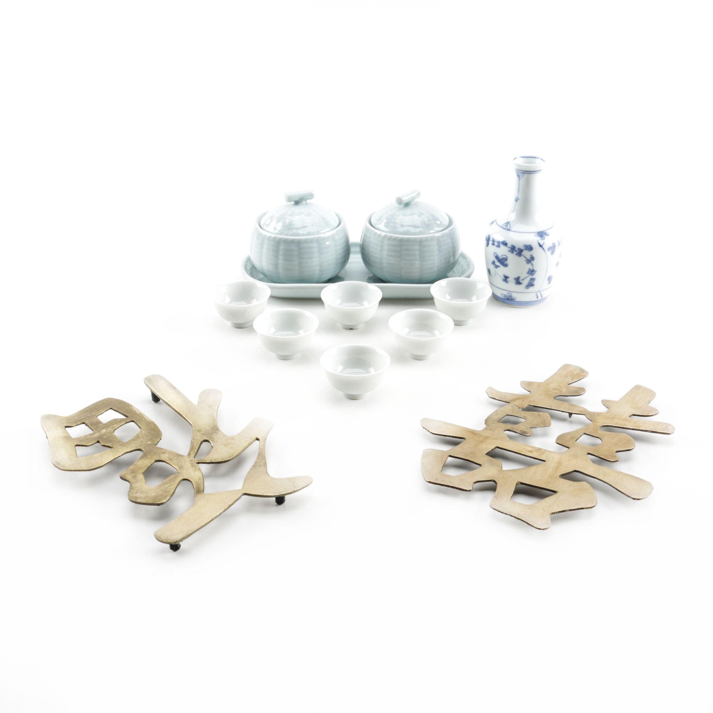 East Asian Tableware Including Japanese Porcelain