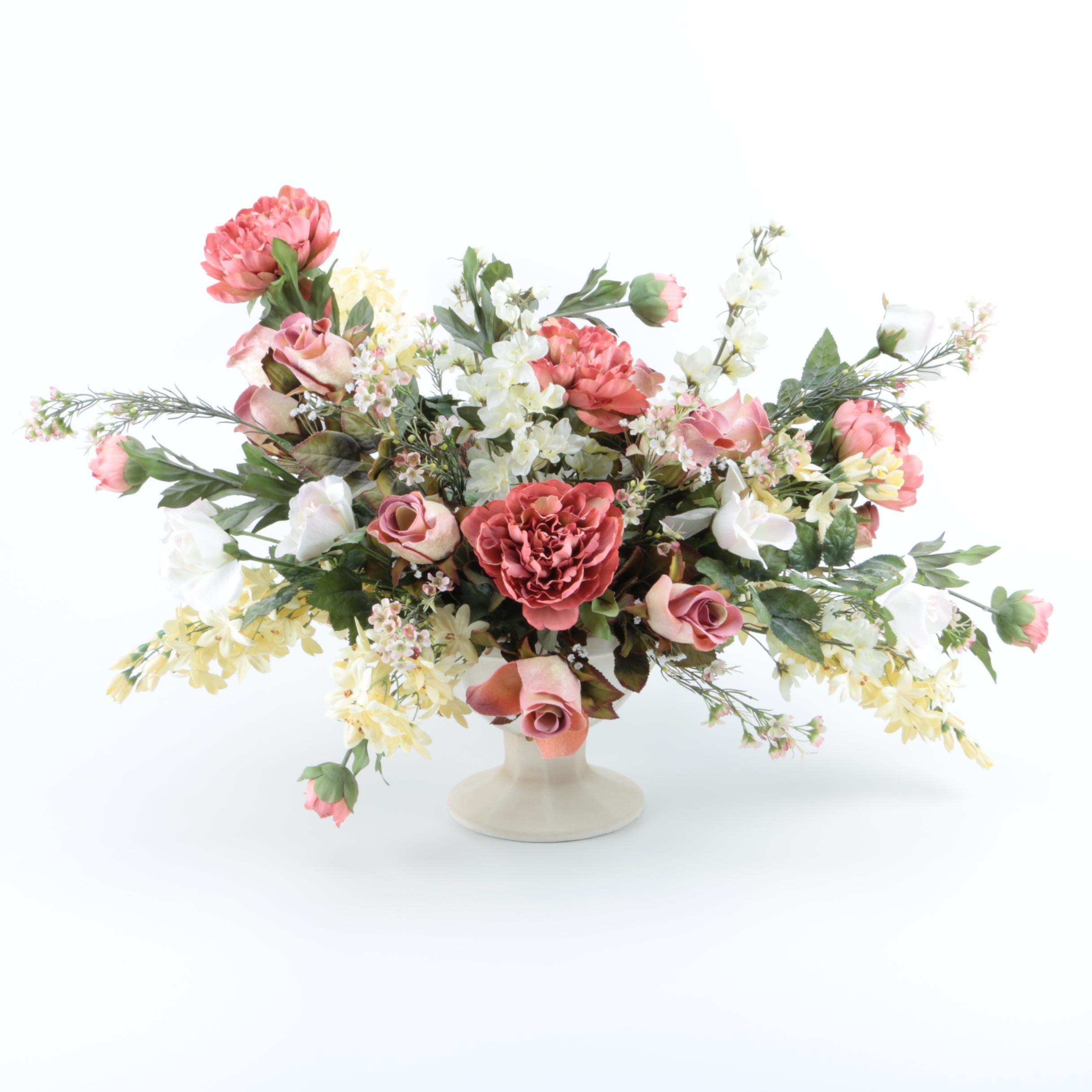 Synthetic Floral Arrangement