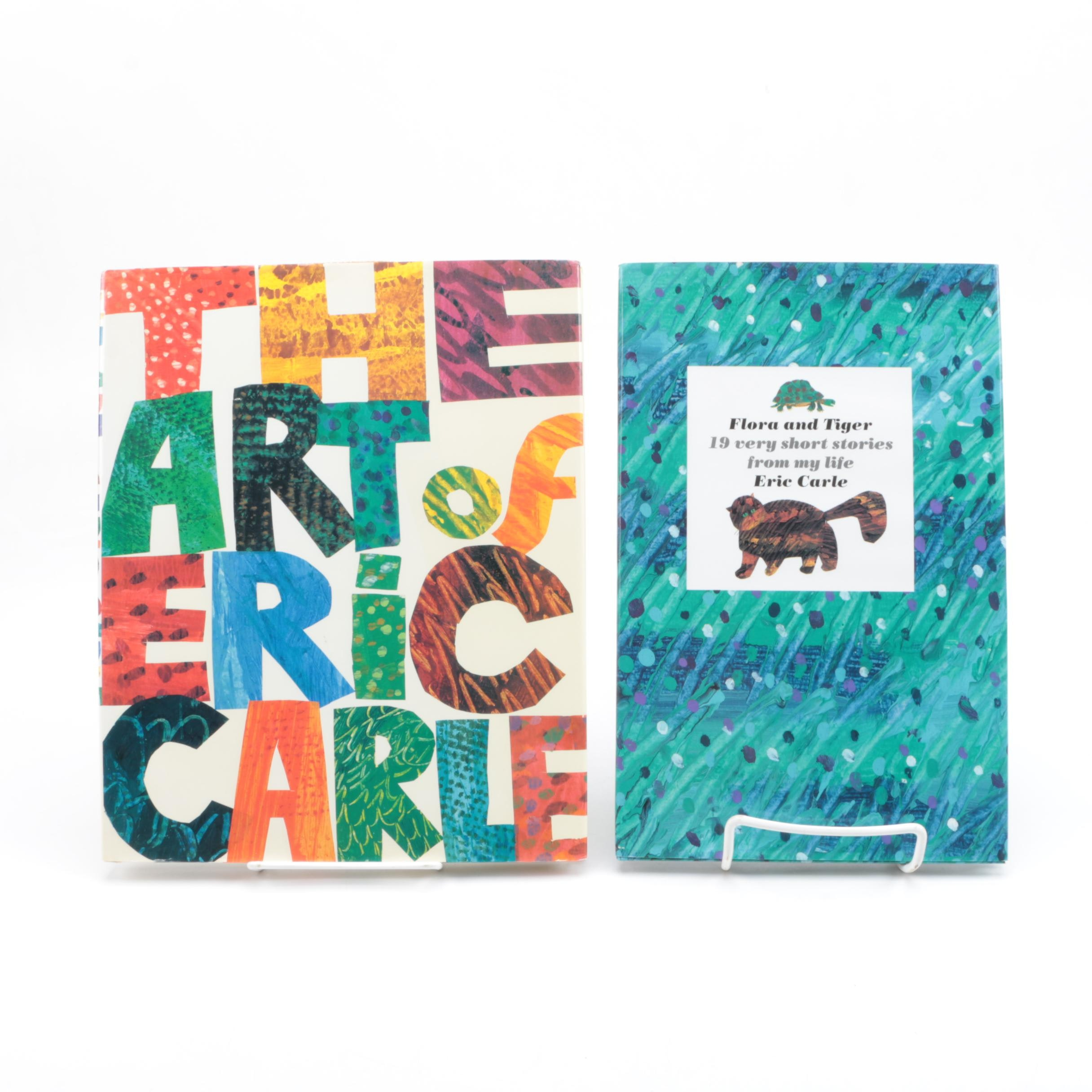 Pair of Signed First Edition Eric Carle Books