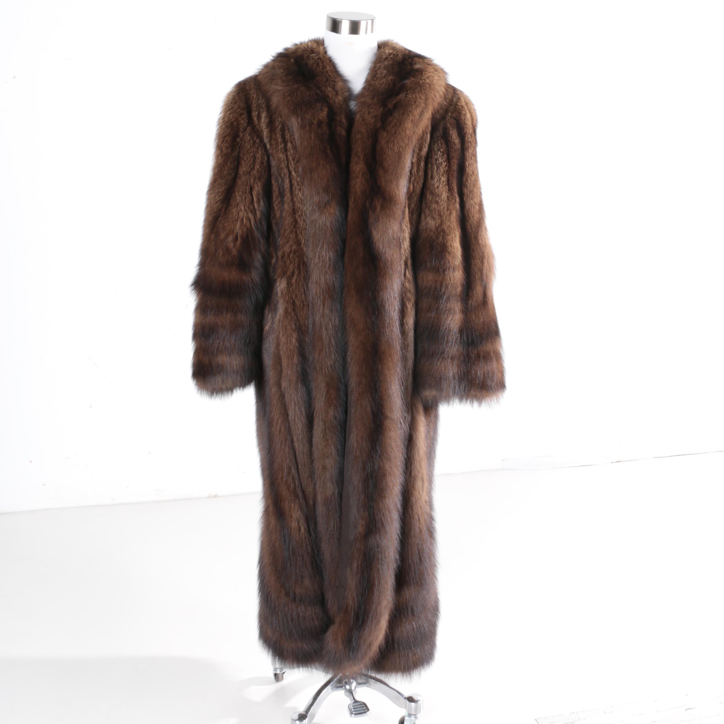 Women's Vintage Fur Coat