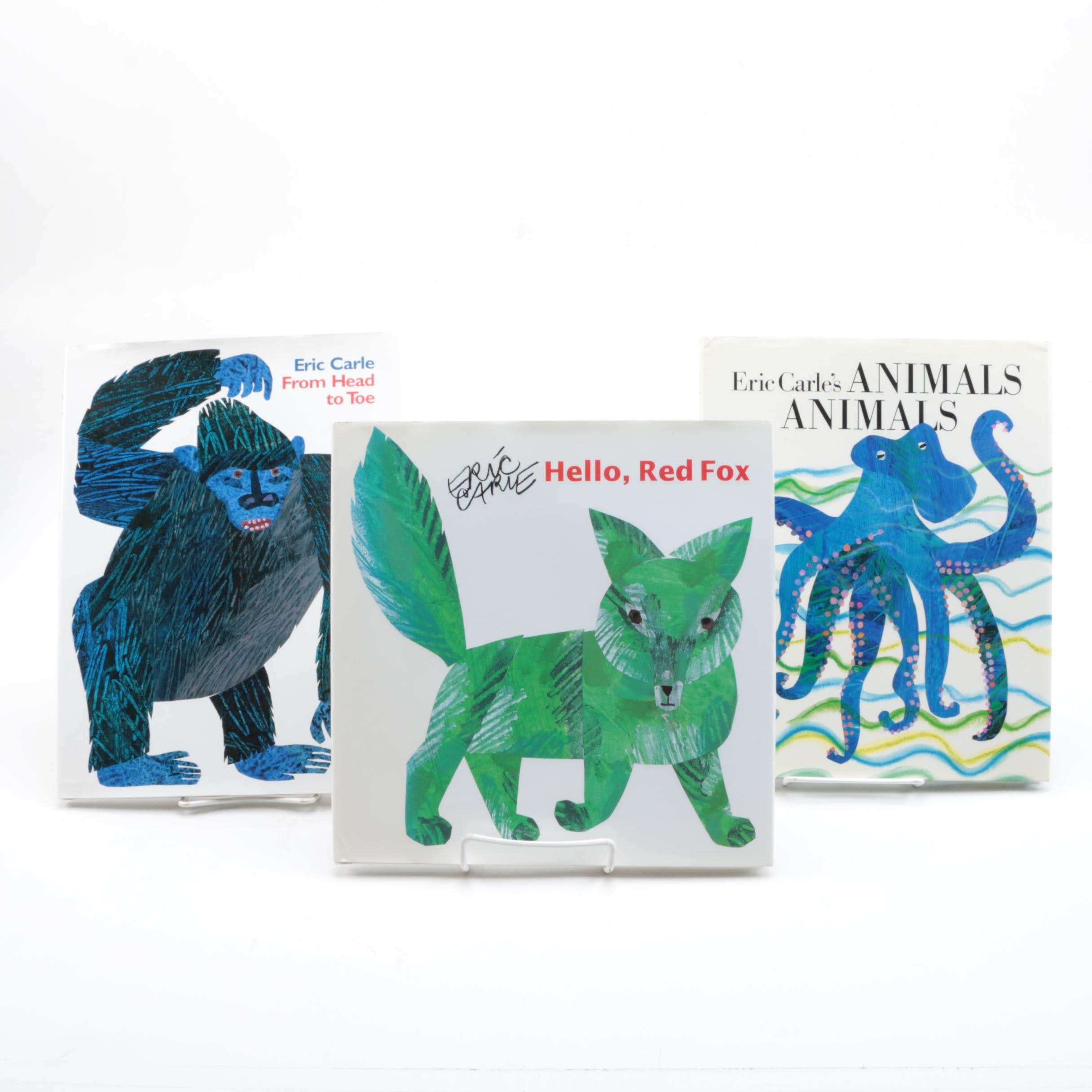 Signed First Edition Works by Eric Carle