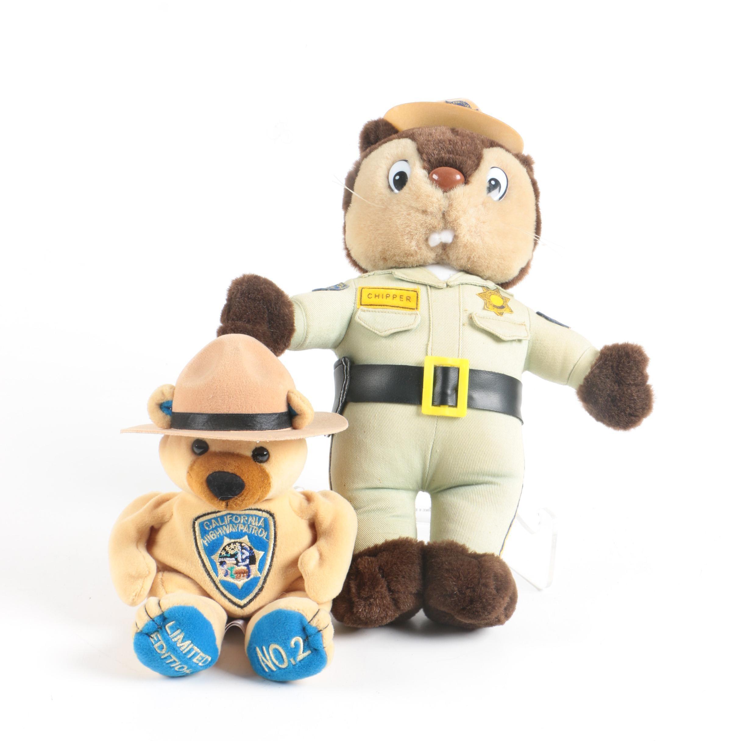 California Highway Patrol Stuffed Animals
