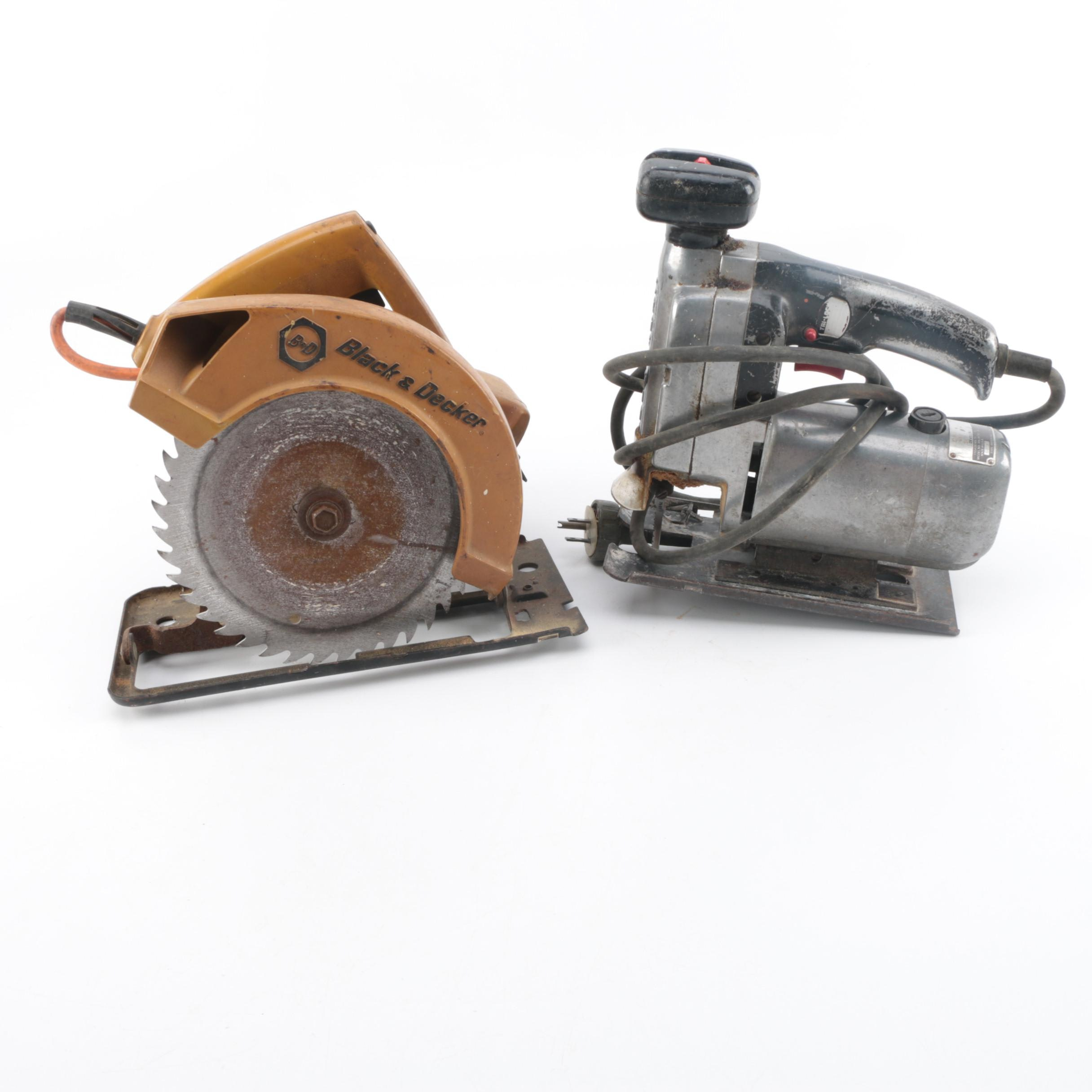 Power Saws Including Black & Decker