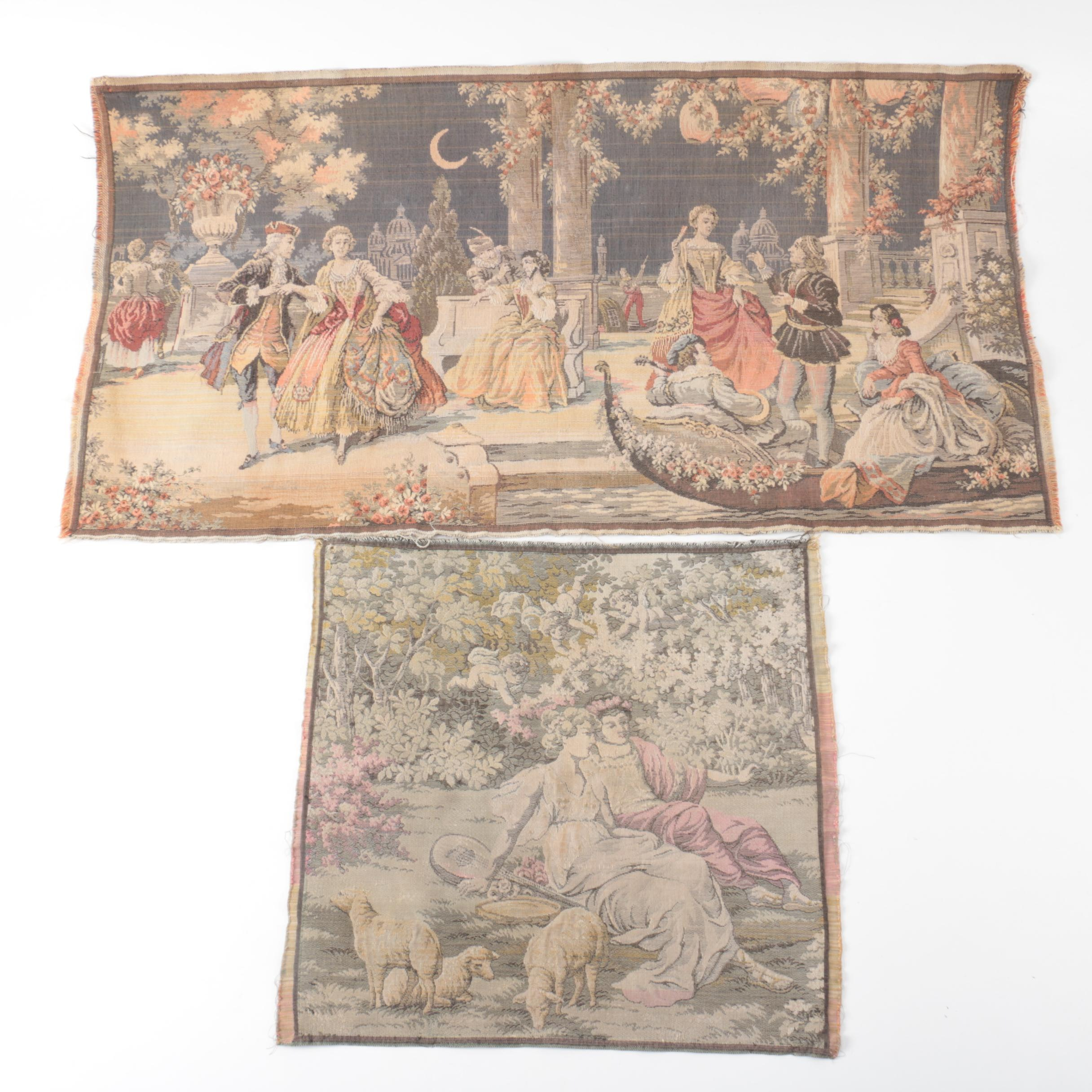 Flanders Style Woven Tapestries