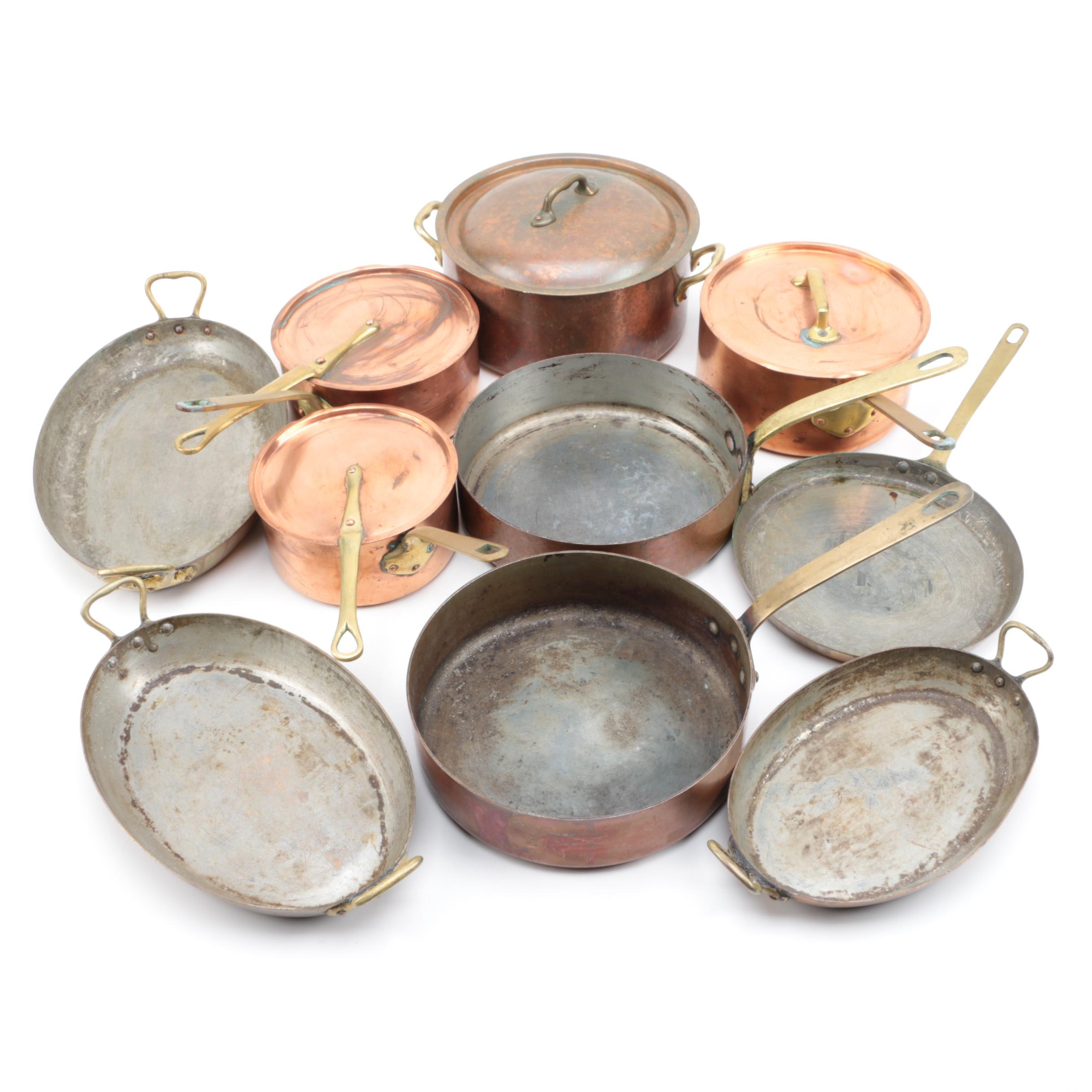 French Copper Cookware
