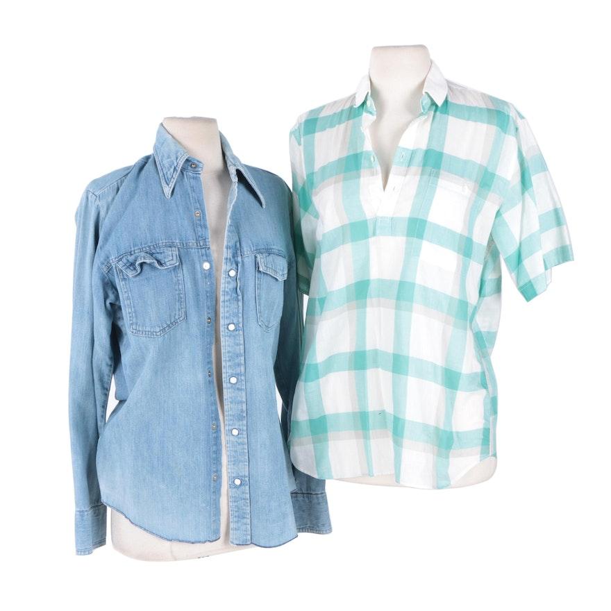 8a2d1bdf Men's Plaid and Denim Shirts : EBTH