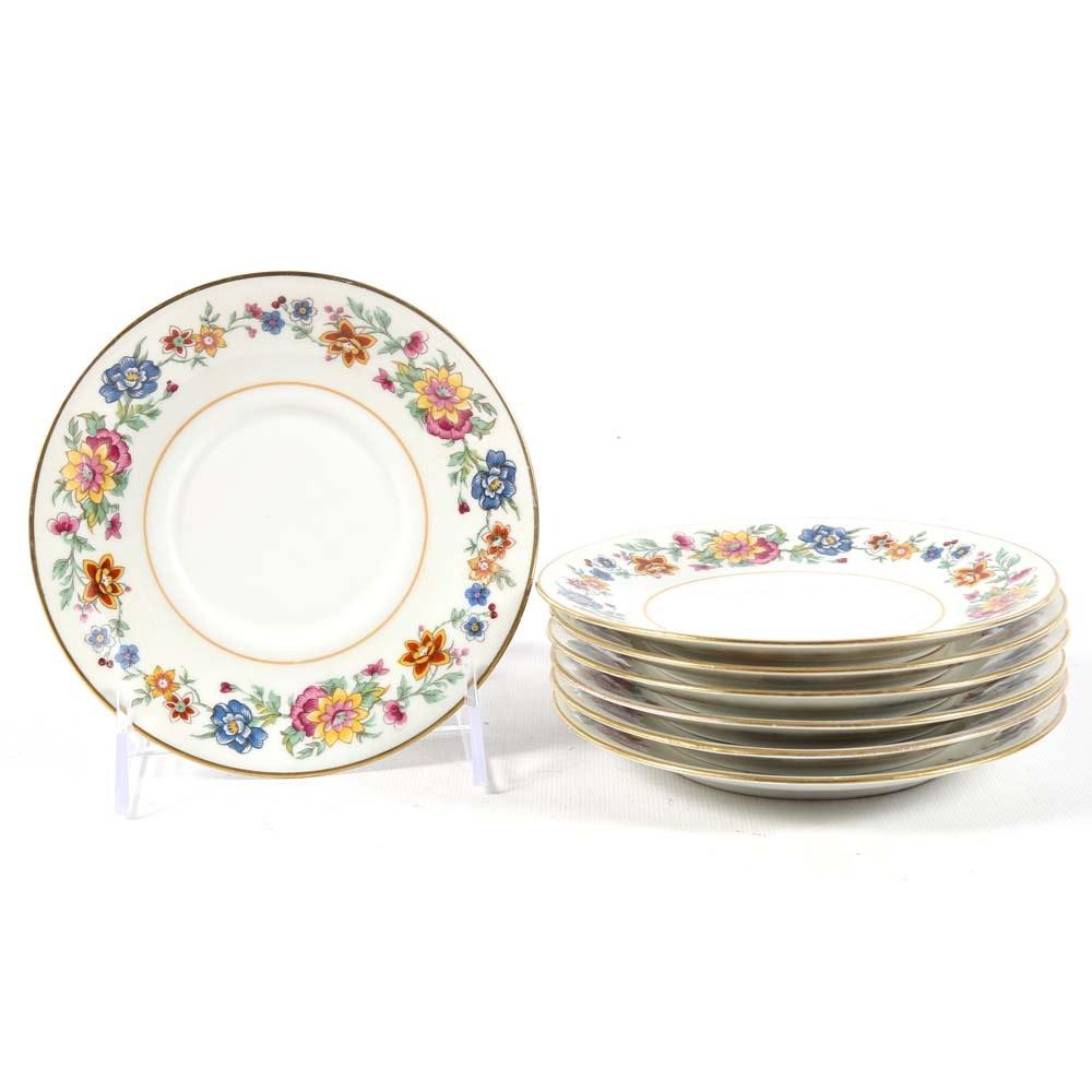 Vintage Charles Ahrenfeldt for B. Altman New York Dessert Plates