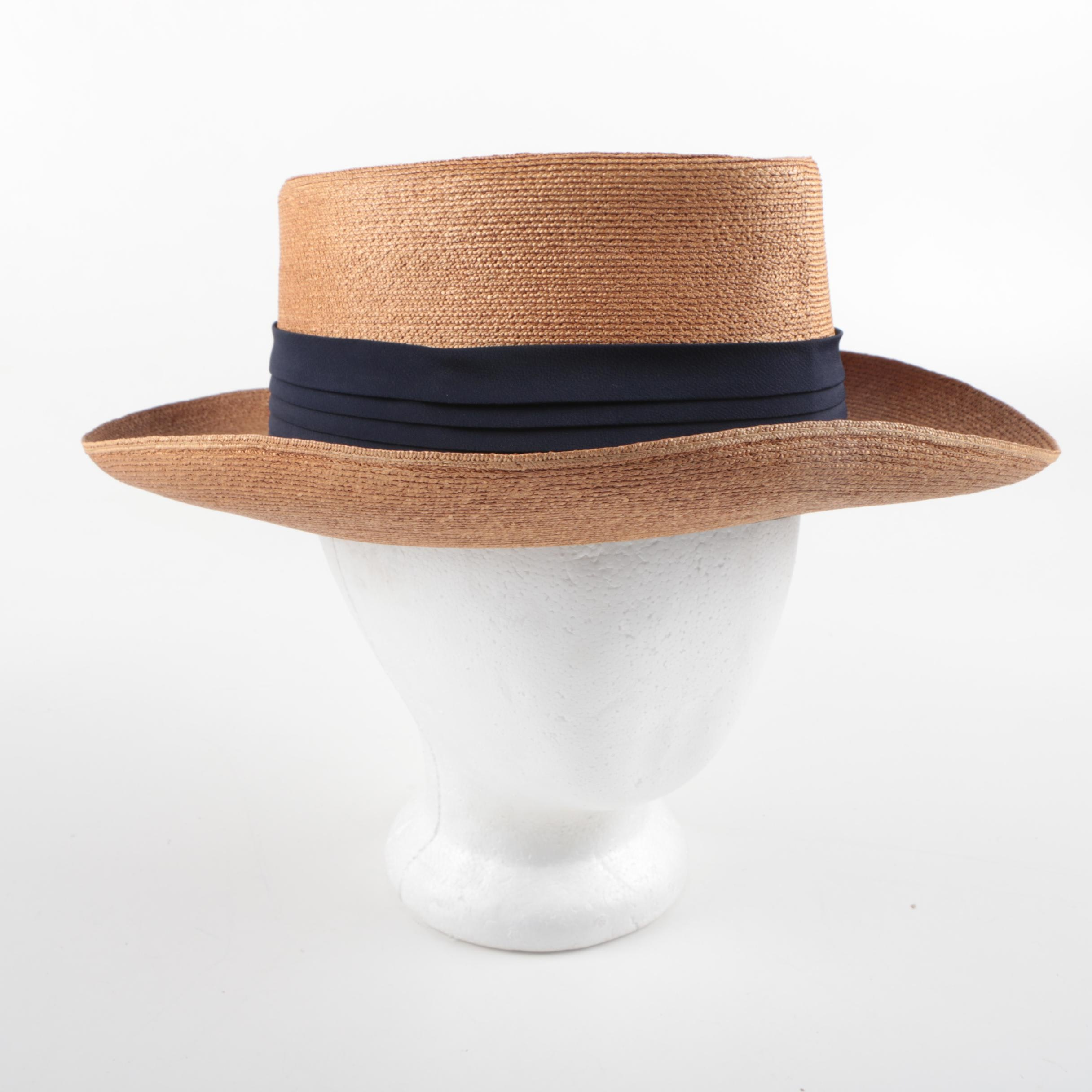 Ecuadorian Panama Hat Company Toquila Straw Gambler Hat