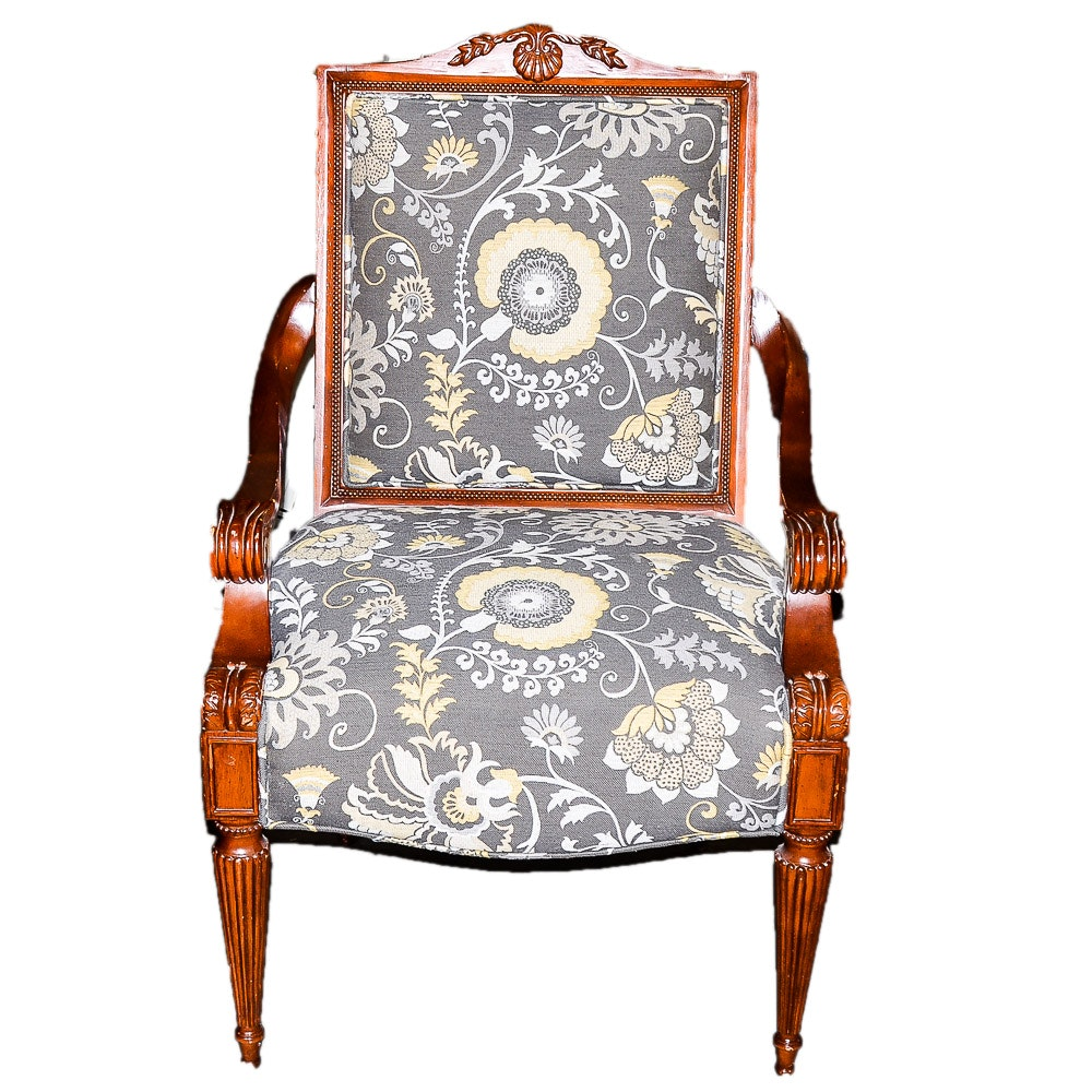 Late Regency Style Arm Chair