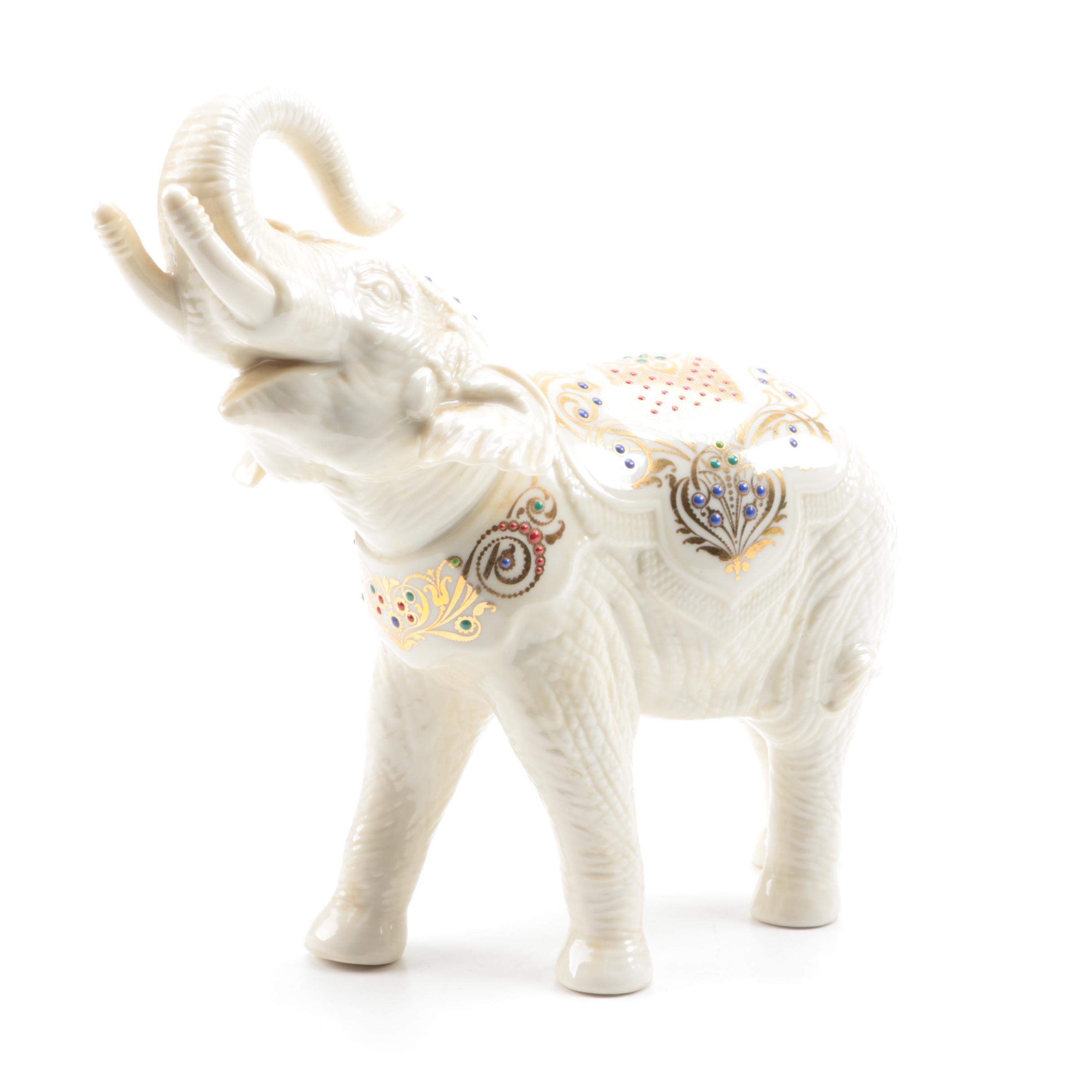 "Lenox ""China Jewels"" Collection Elephant"